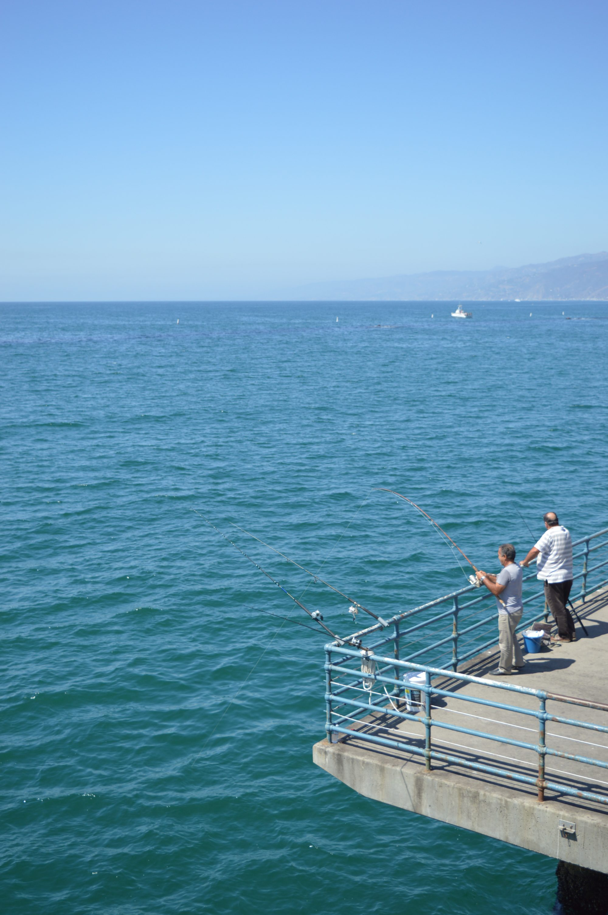 Santa Monica Pier Fishing