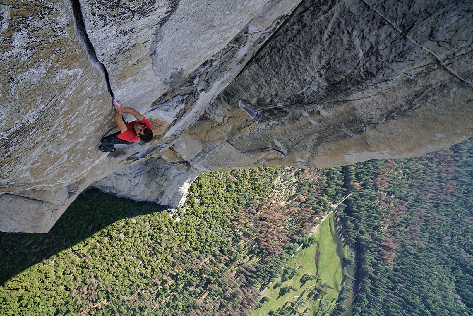 Climbing El Capitan in Yosemite National Park