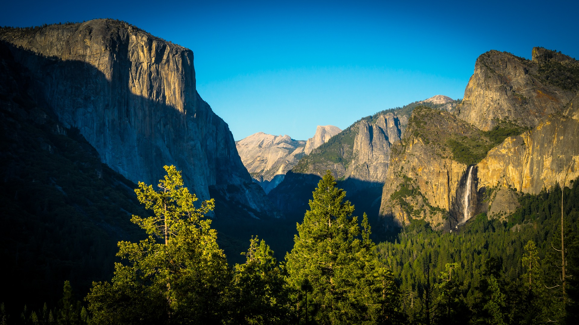 Sunset at Tunnel View, Yosemite National Park