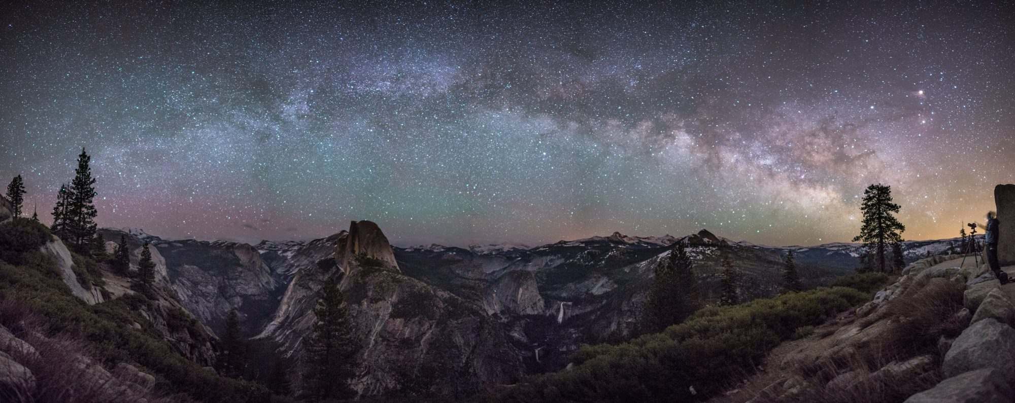 Milky Way, Tunnel View, Yosemite National Park