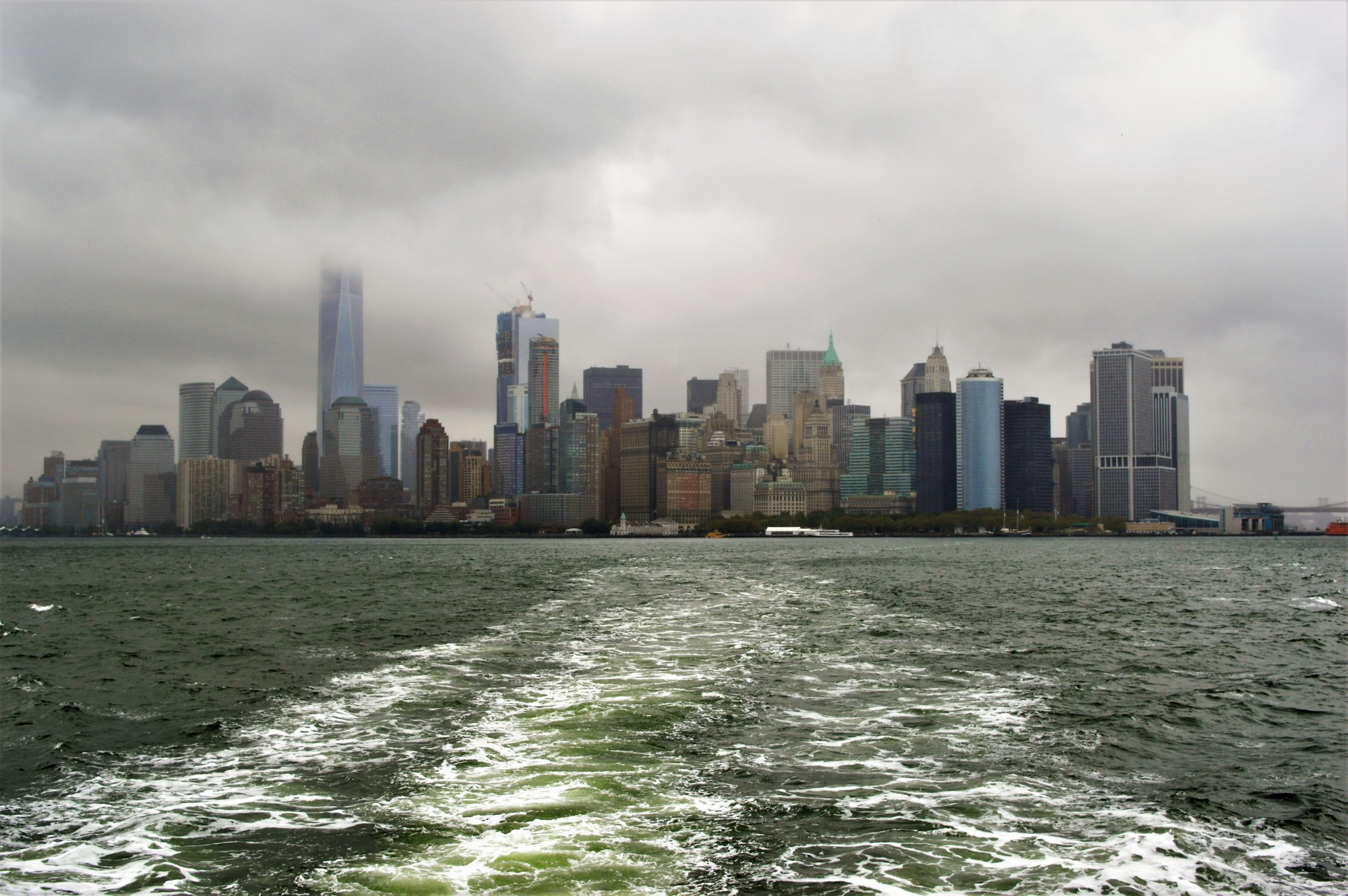 Liberty Island Ferry Crossing