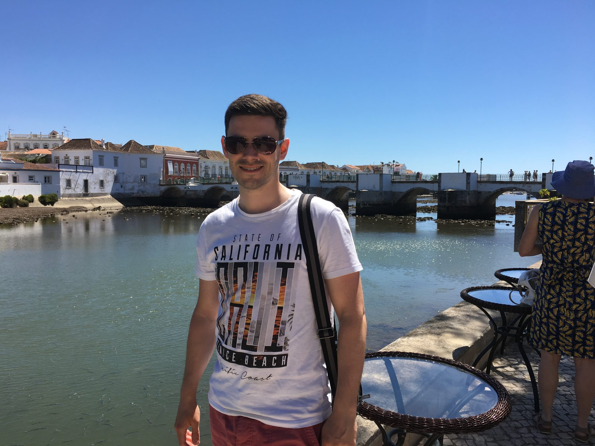 By the Roman Bridge in Tavira