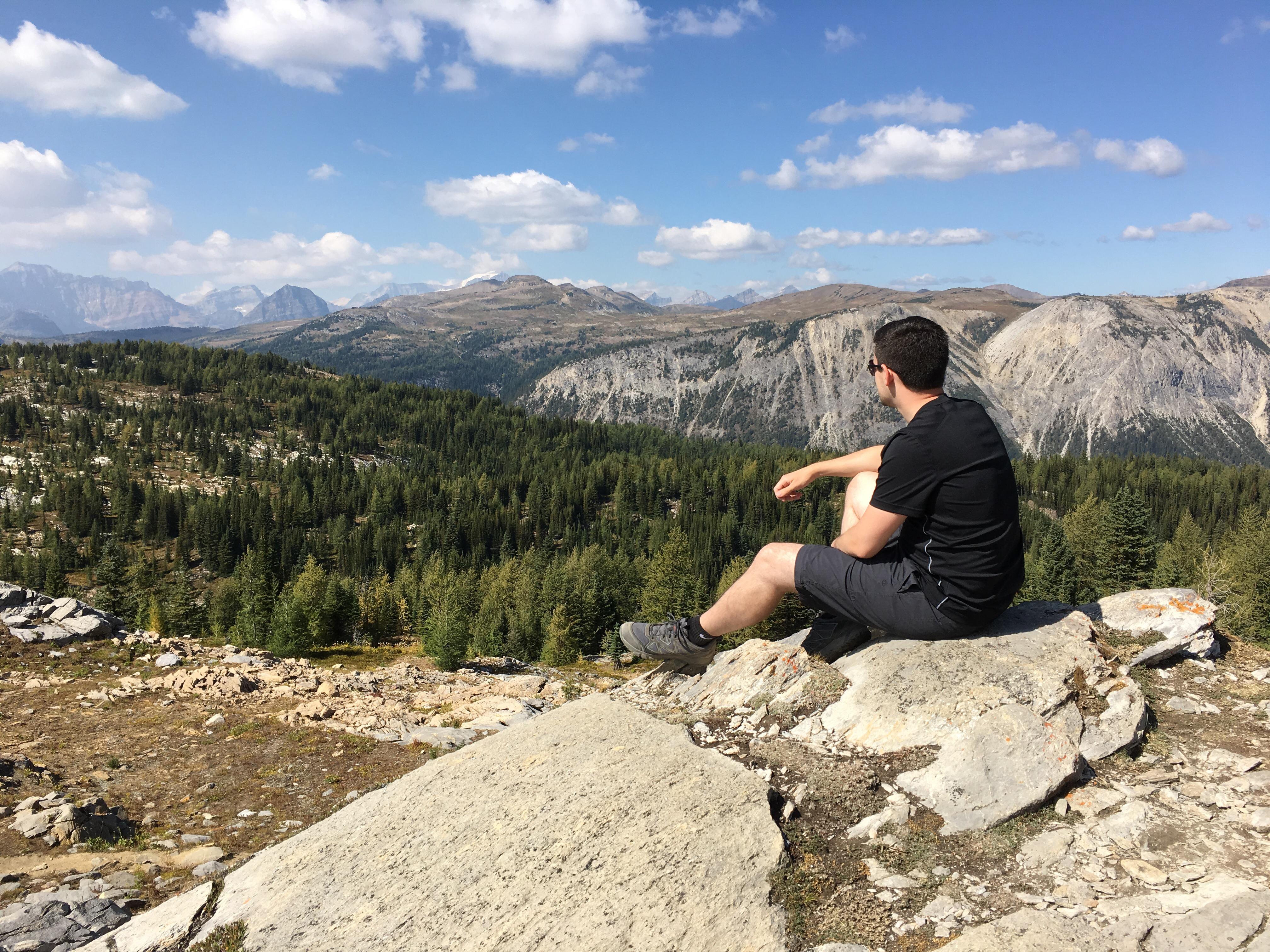 Nick in Banff