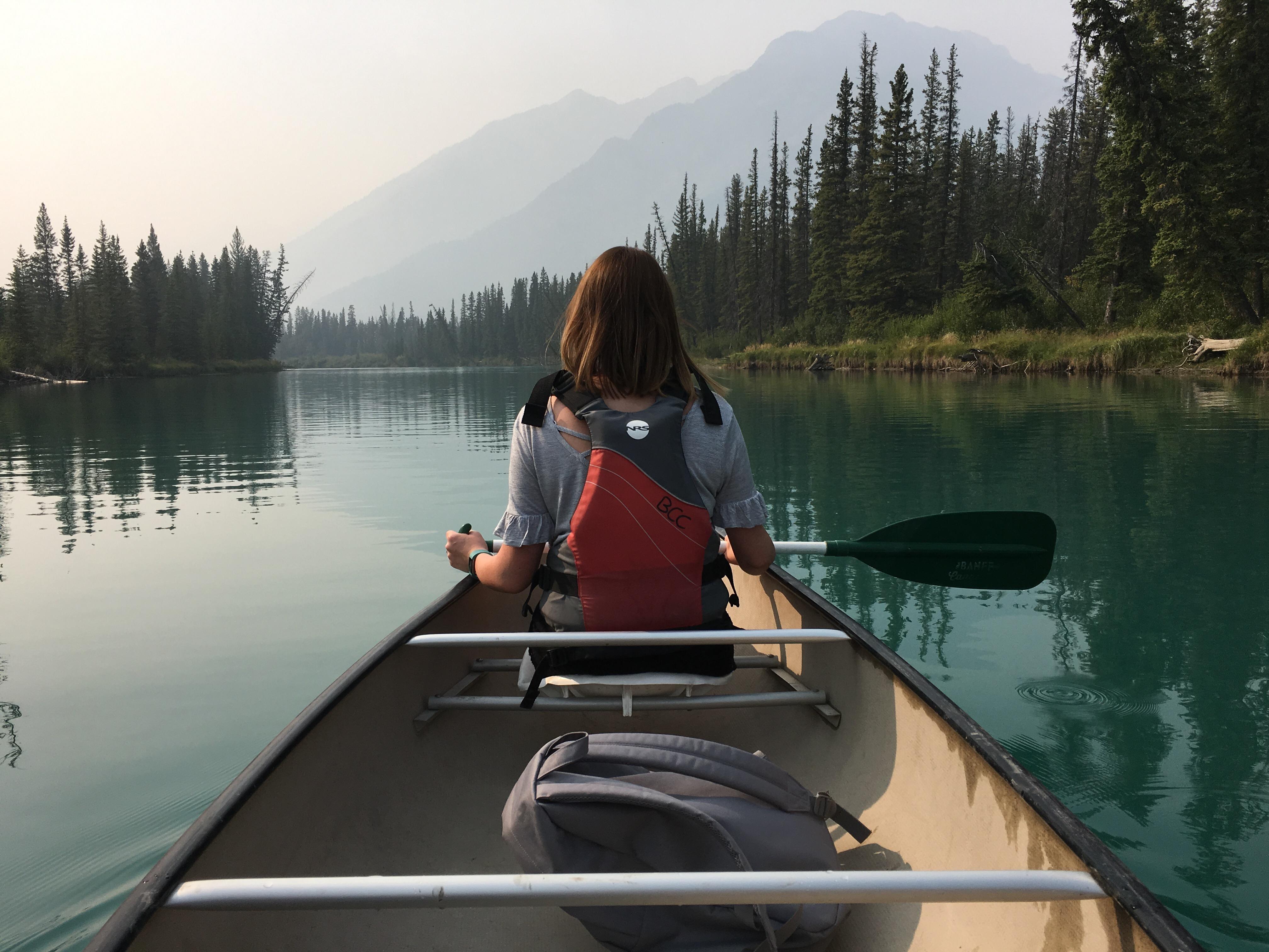 Sarah in Banff