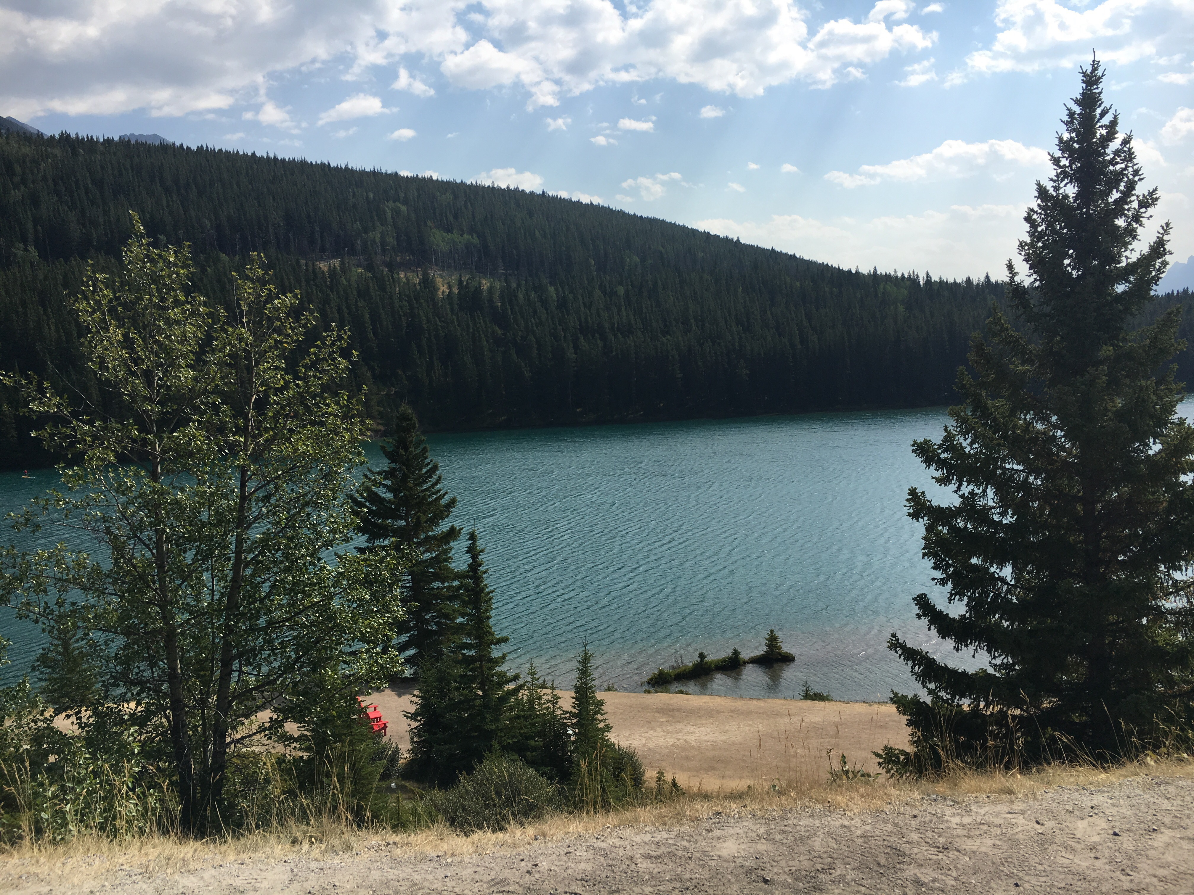 What Is Gap >> Visiting Two Jack Lake In Banff National Park | Ambition Earth