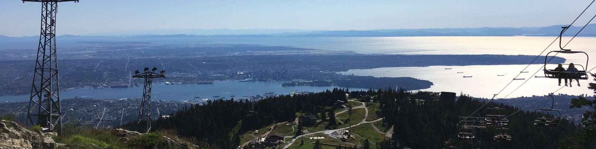 The View from Grouse Mountain, Vancouver