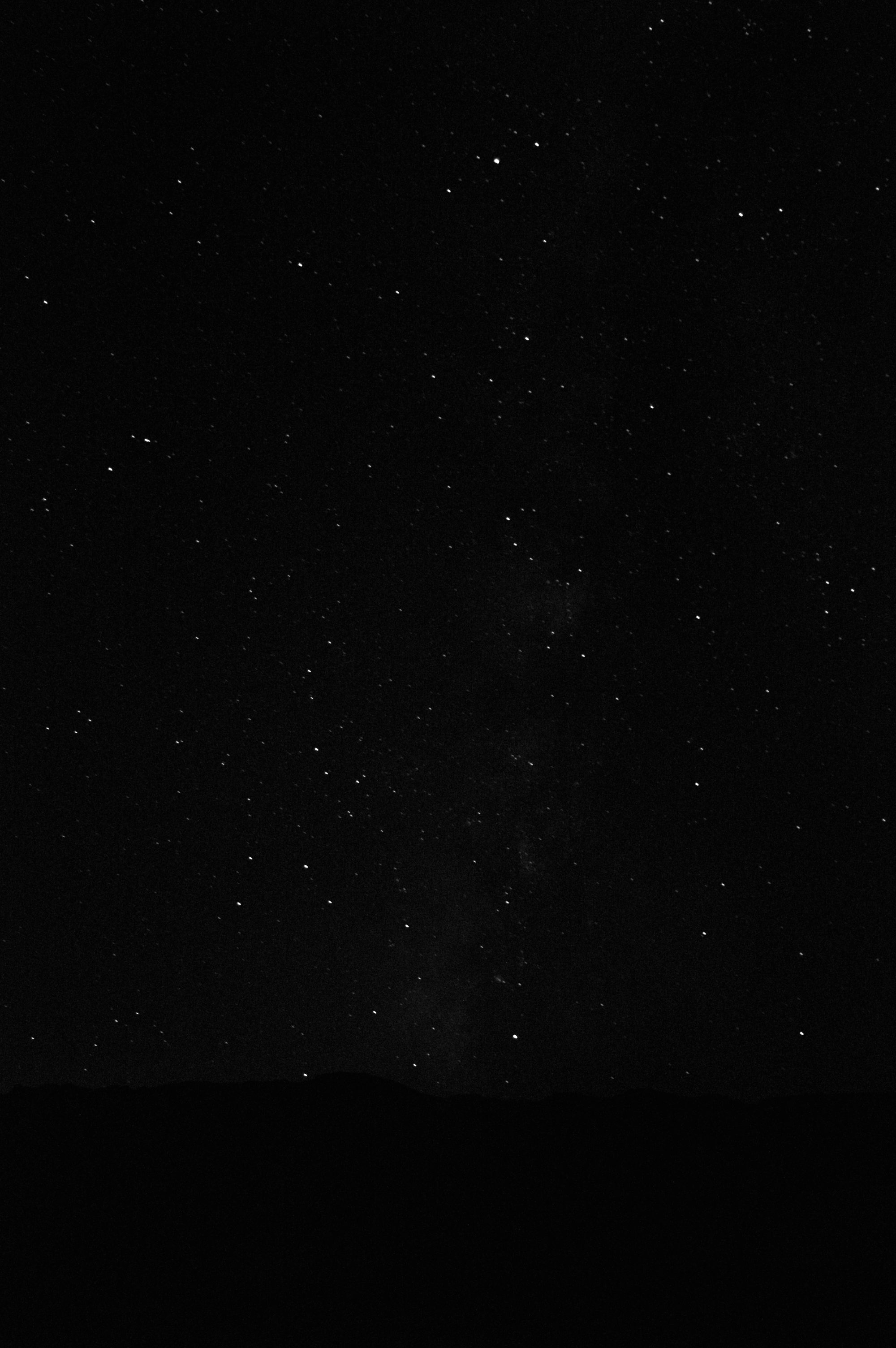Milky Way Death Valley