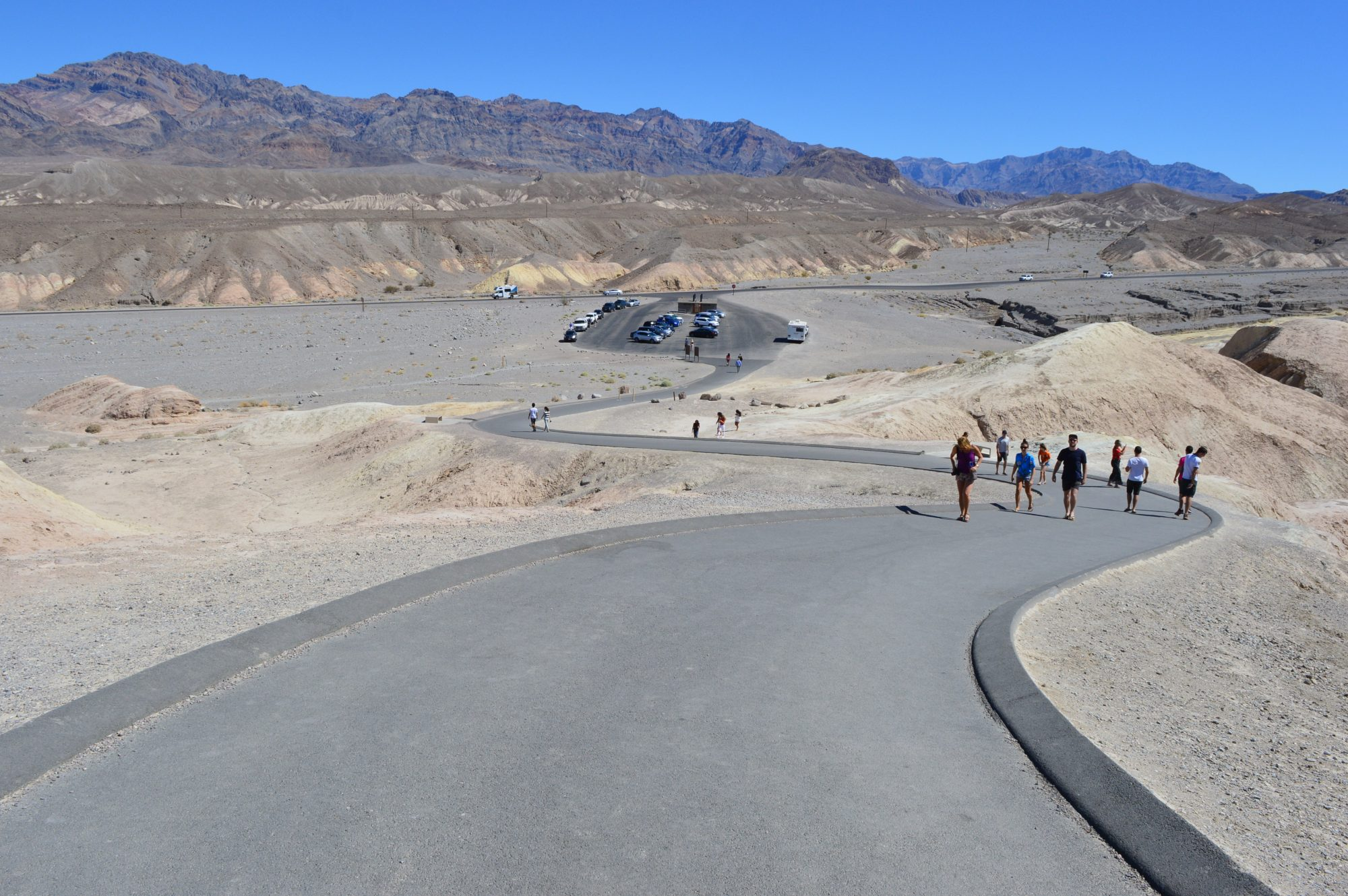 Visiting Zabriskie Point In Death Valley Ambition Earth