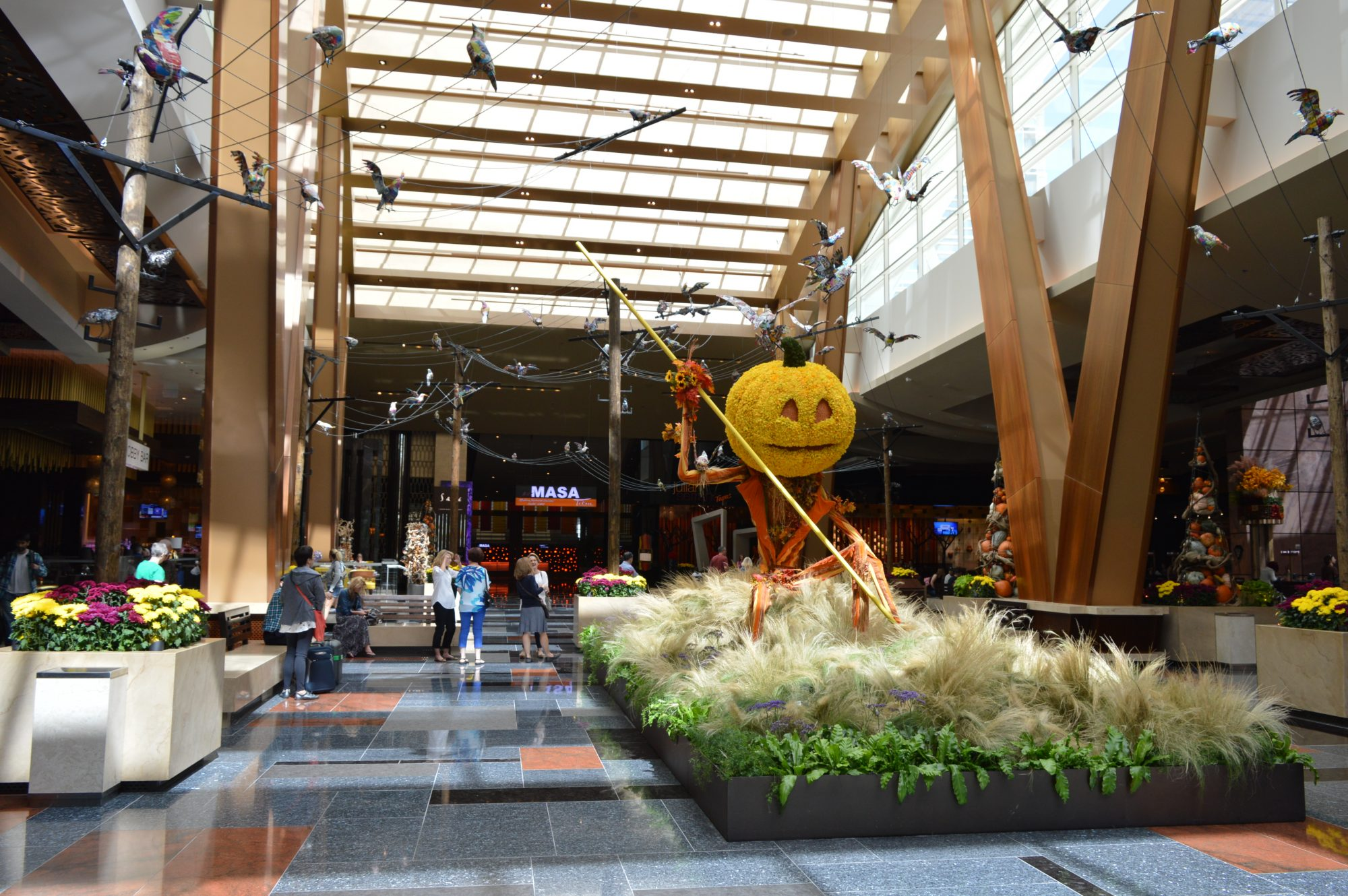 Aria Las Vegas Halloween Display