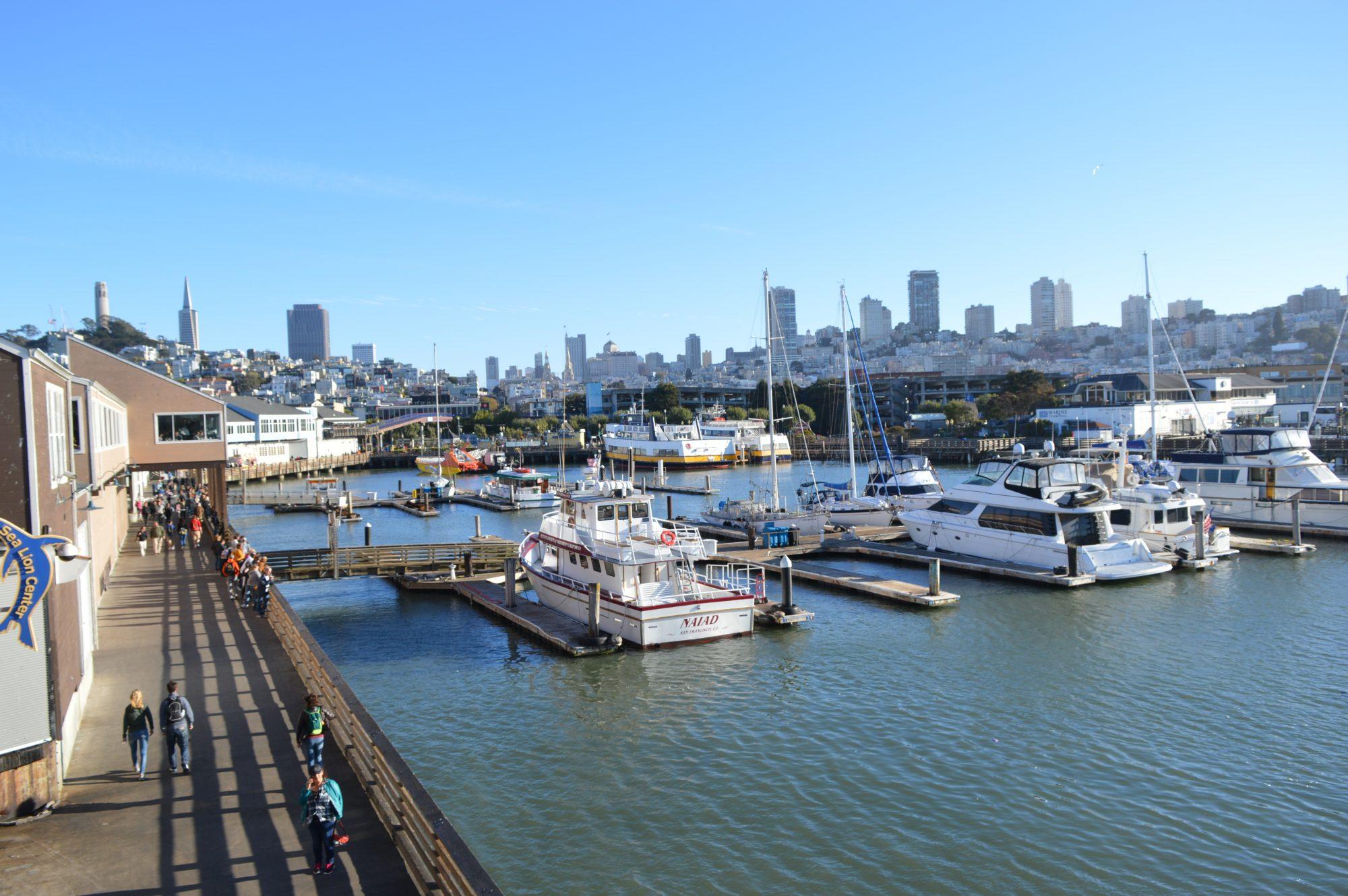 Harbour at Pier 39 San Francisco