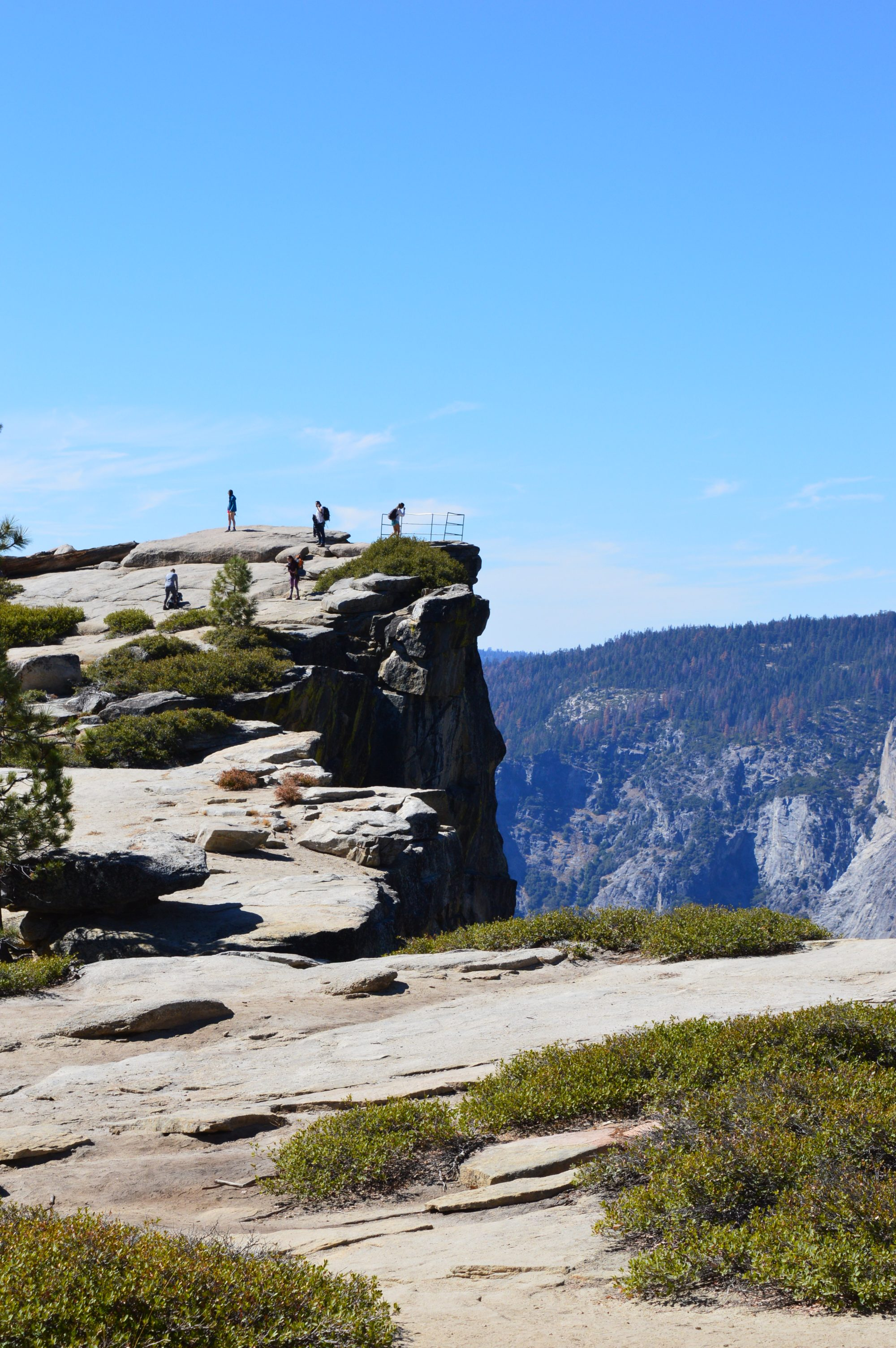 Taft Point Trail Yosemite National Park
