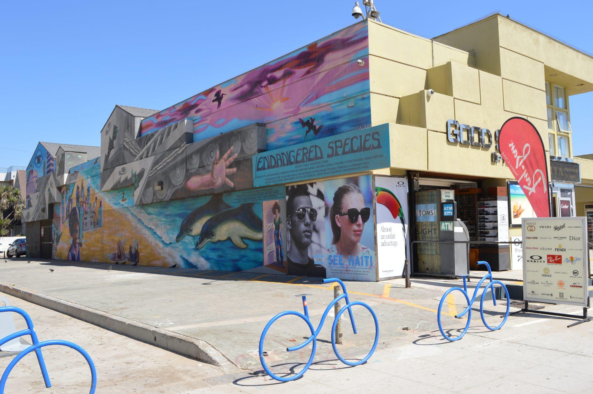 Street art in Venice California
