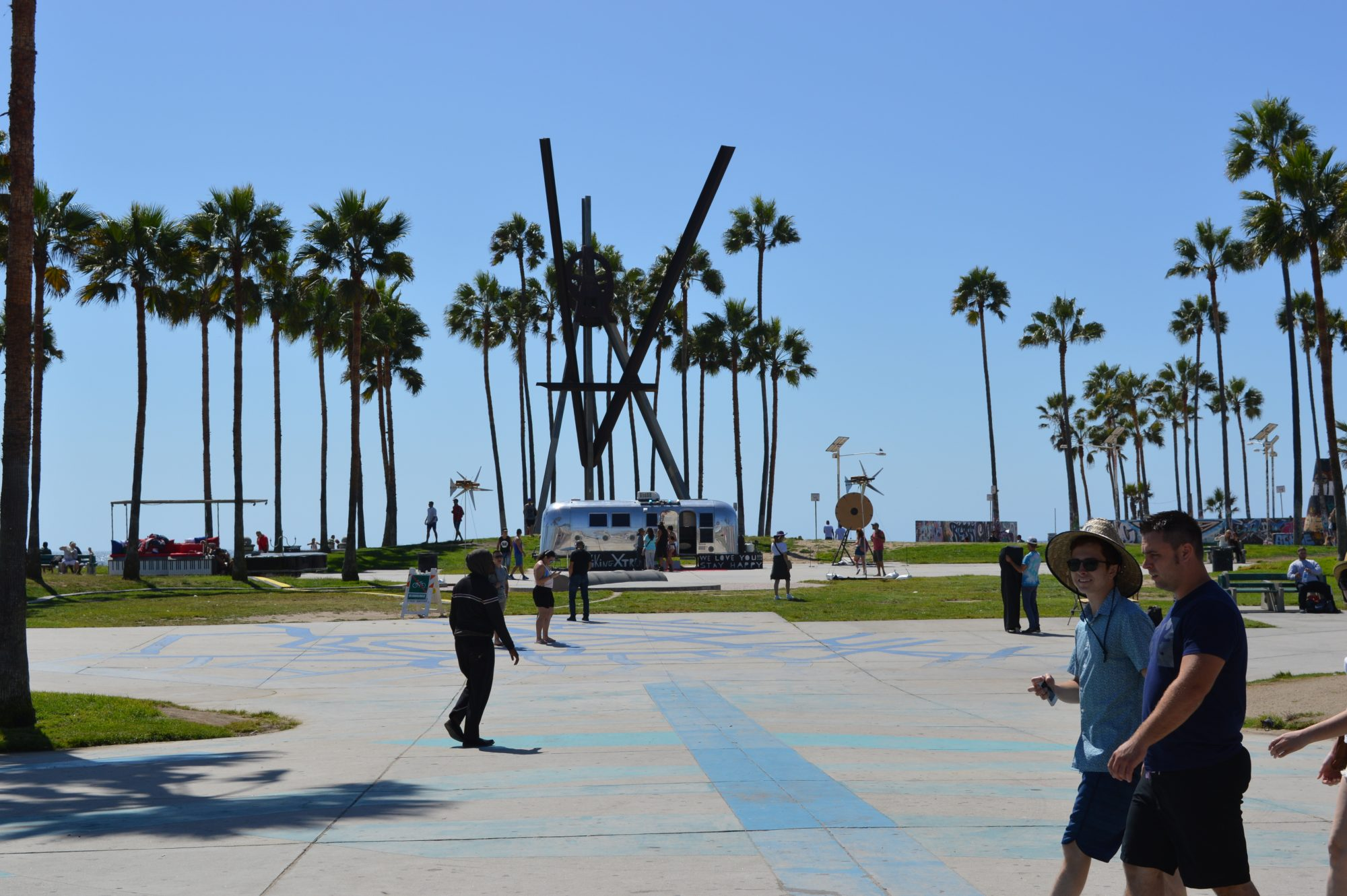 Venice beach board walk