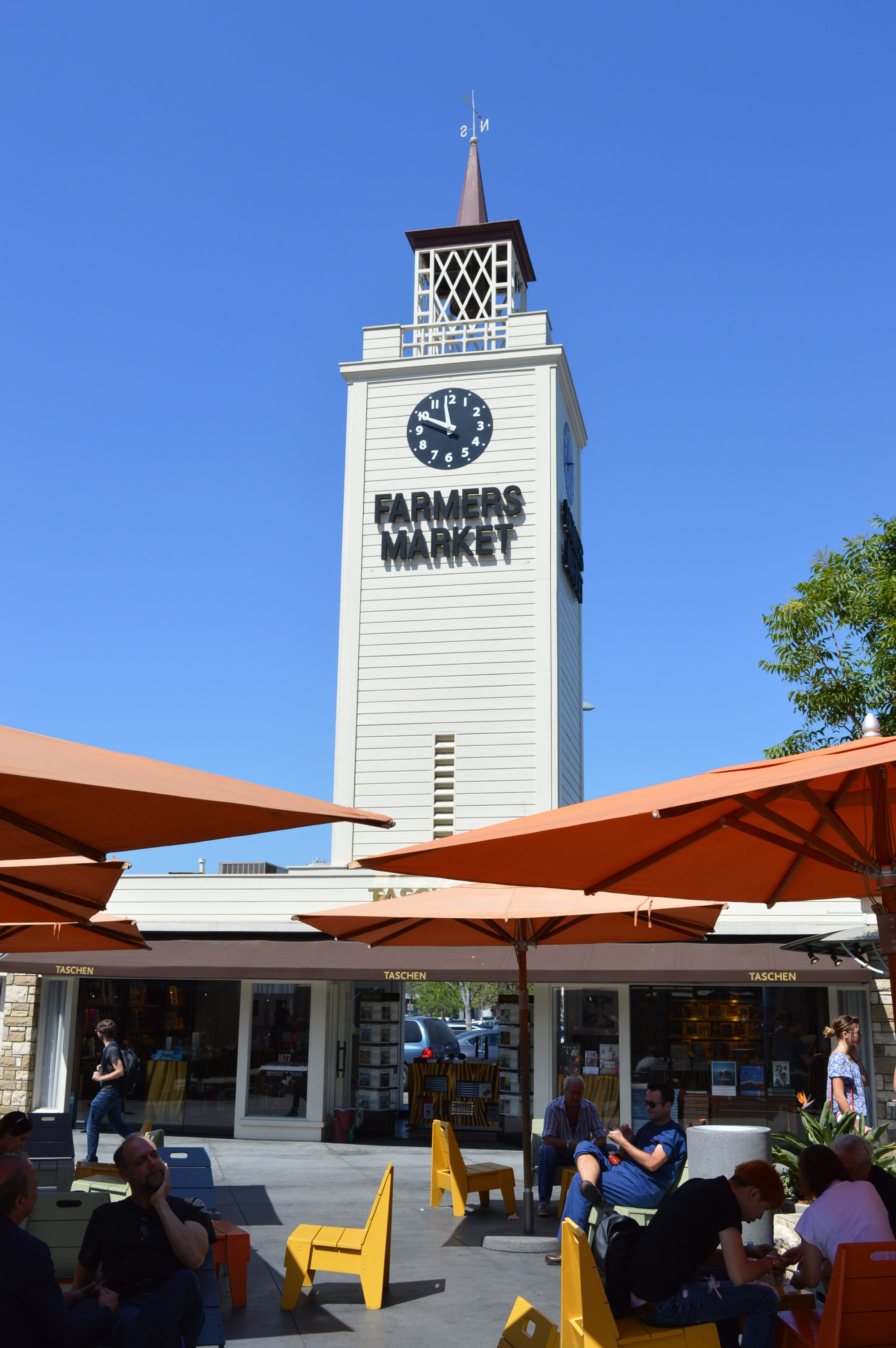 Old Farmers Market in Los Angeles