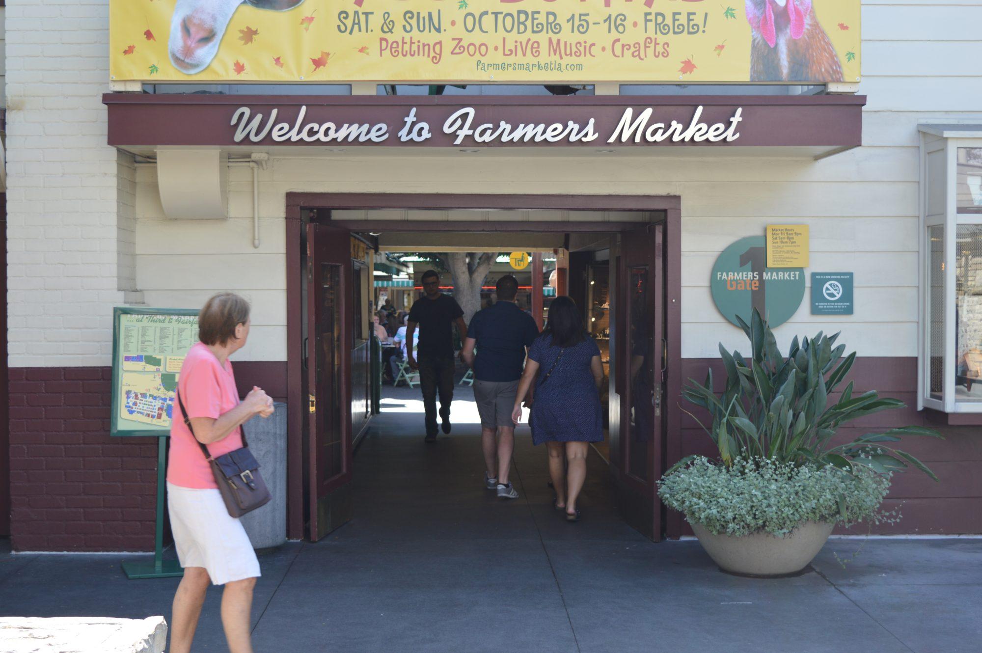Old Farmers Market in Los Angeles