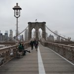 Taking In New York City At The Brooklyn Bridge
