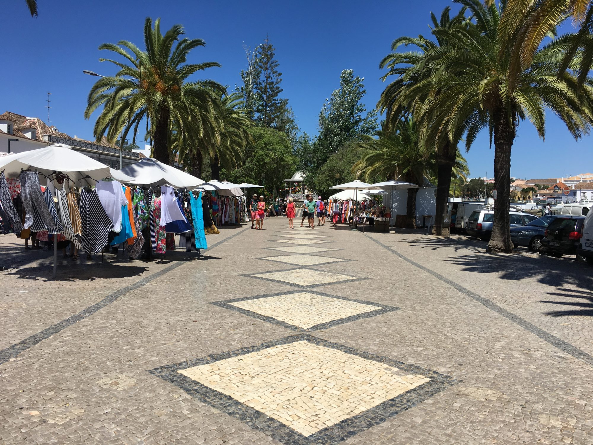 Tavira outdoor market