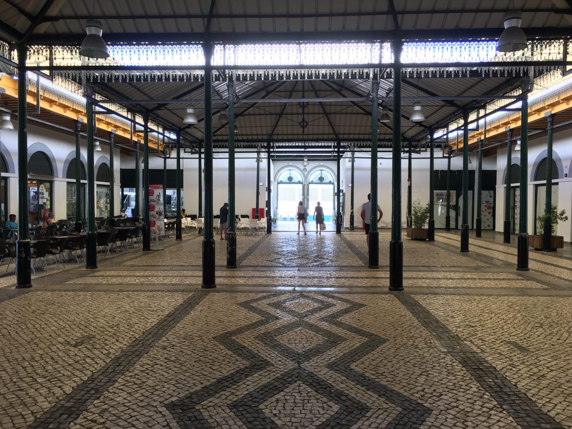 Tavira indoor market