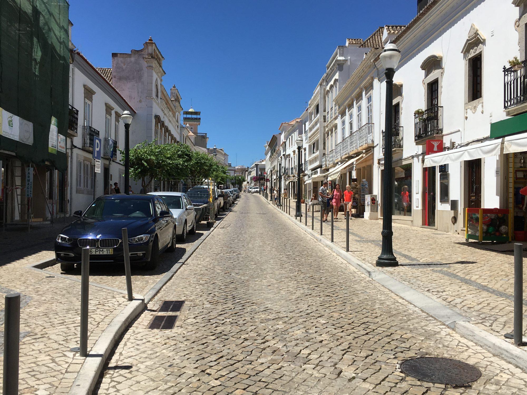 Tavira Cobblestone Streets