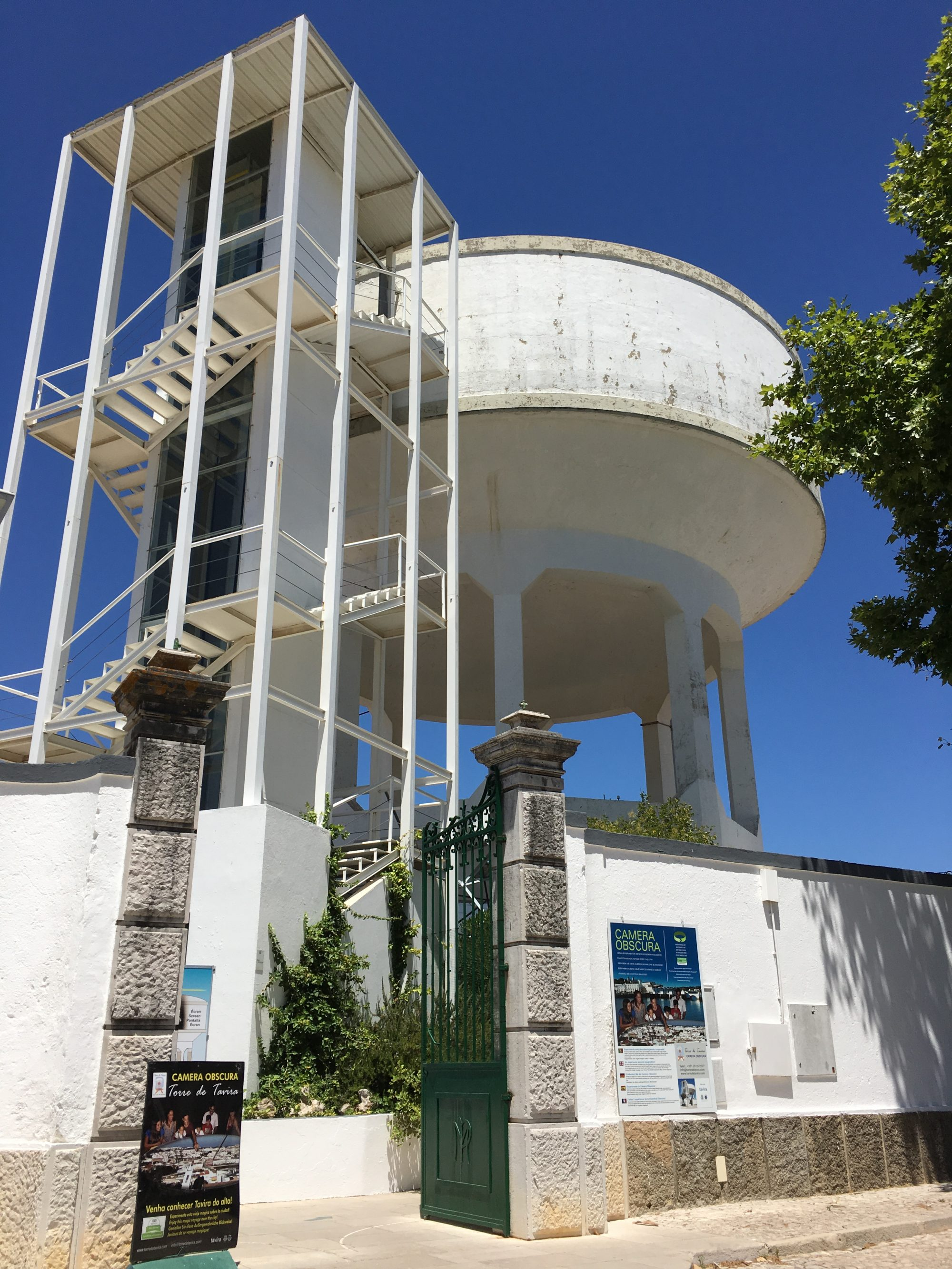 Water tower observation deck Tavira