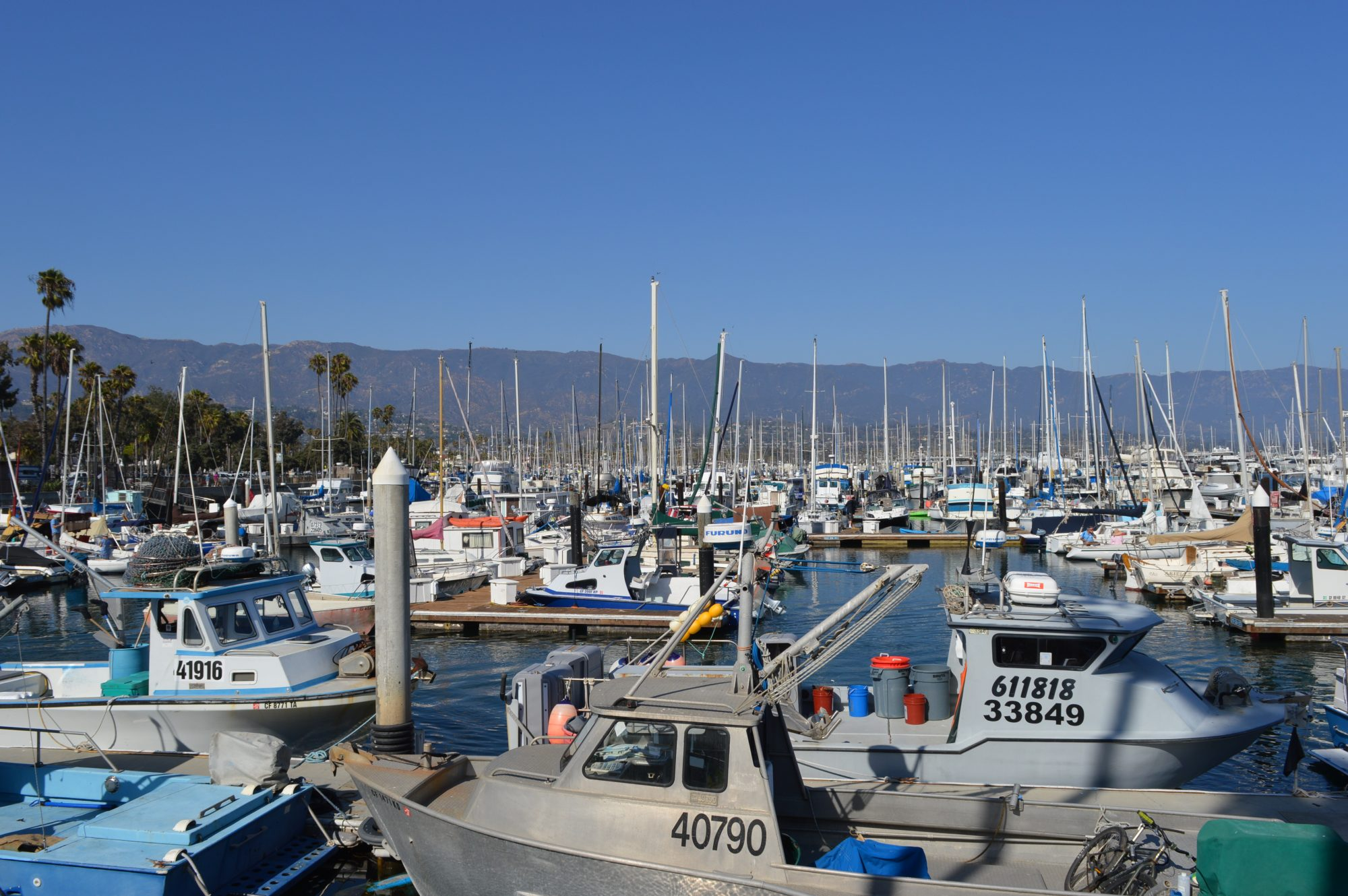 Santa Barbara Harbour