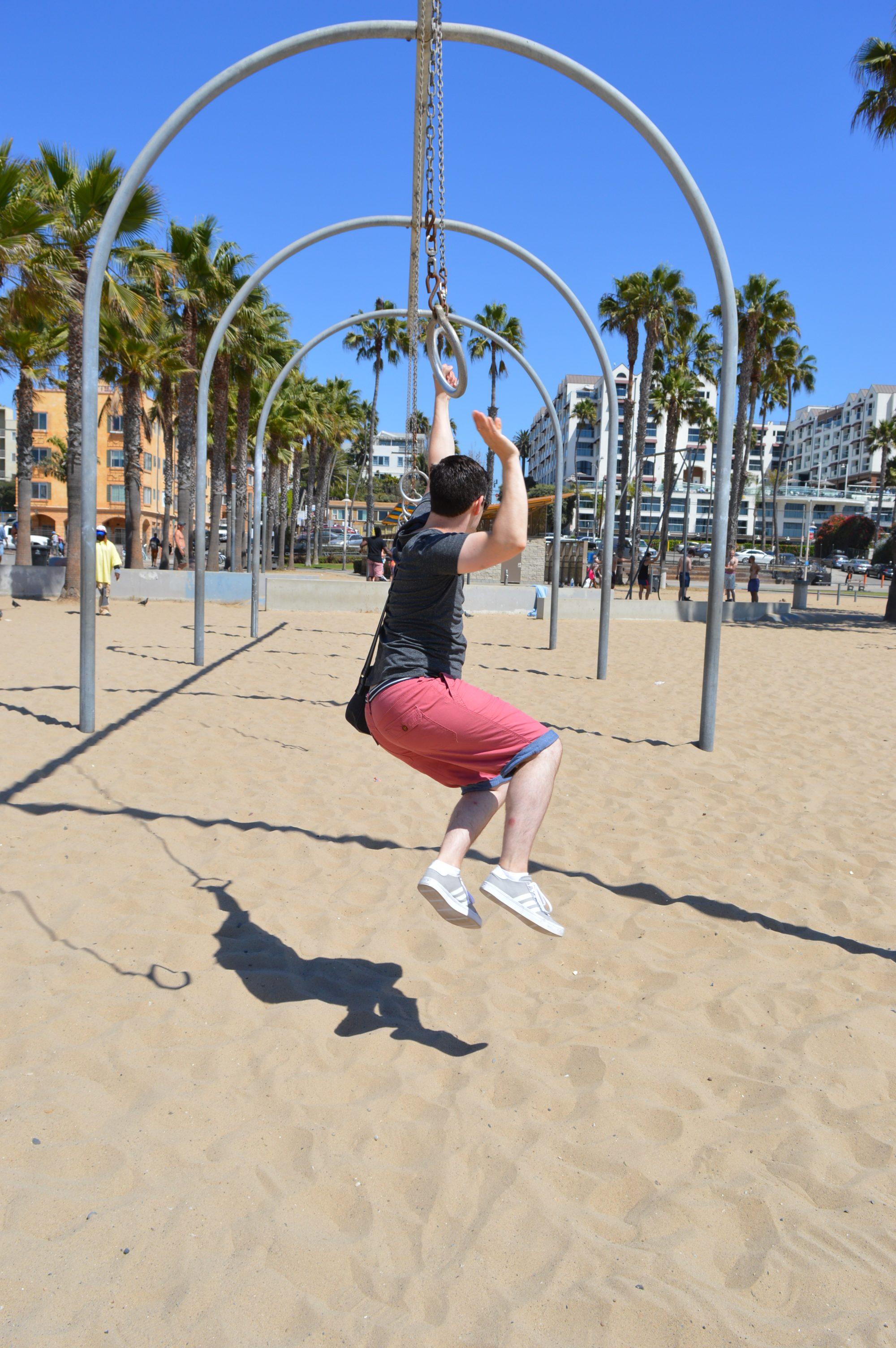 The Rings at Santa Monica Beach