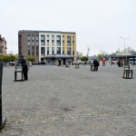 Remembering The Holocaust At The Ghetto Heroes Square In Krakow