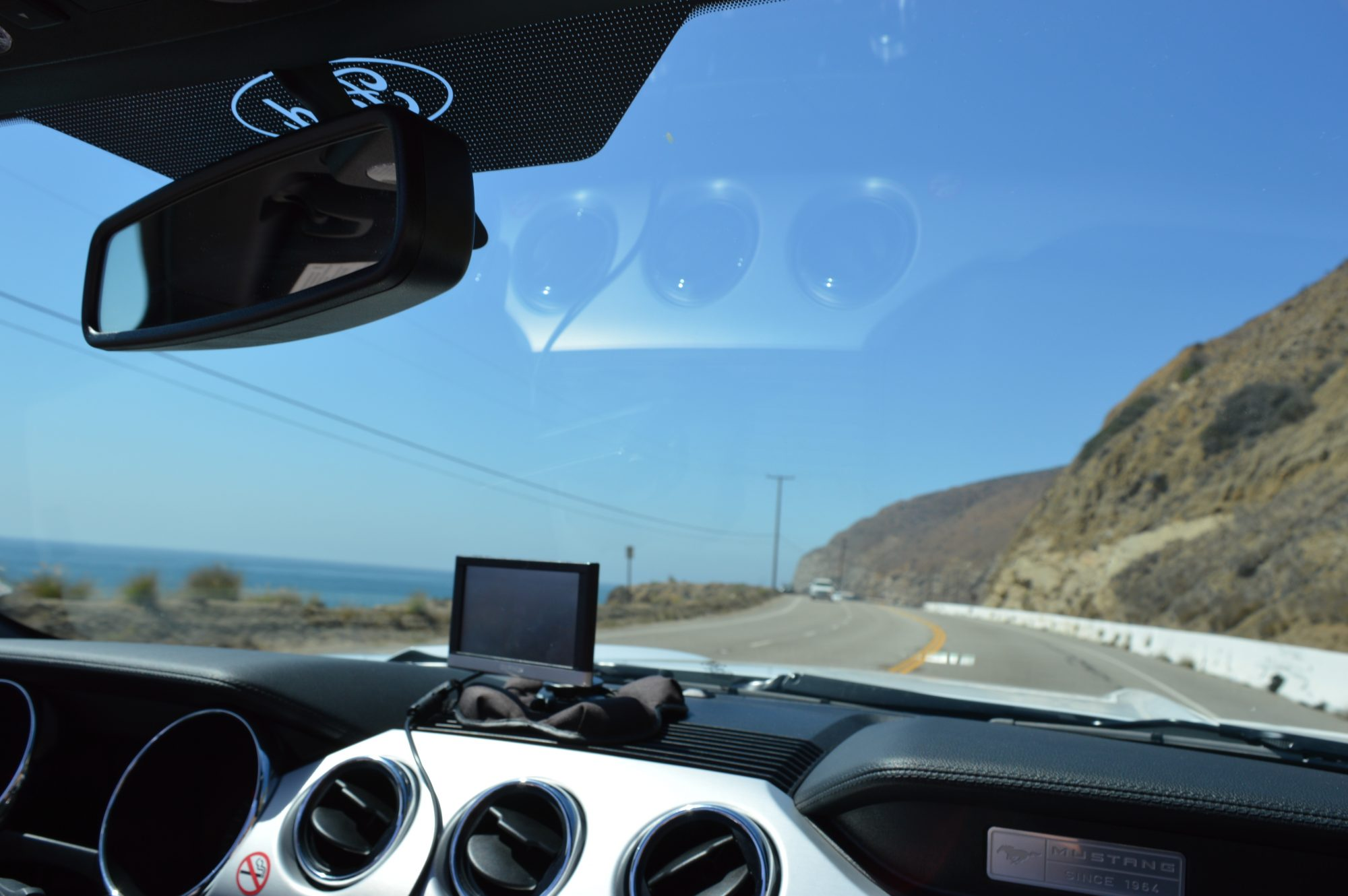 Driving the Pacific Coast Highway