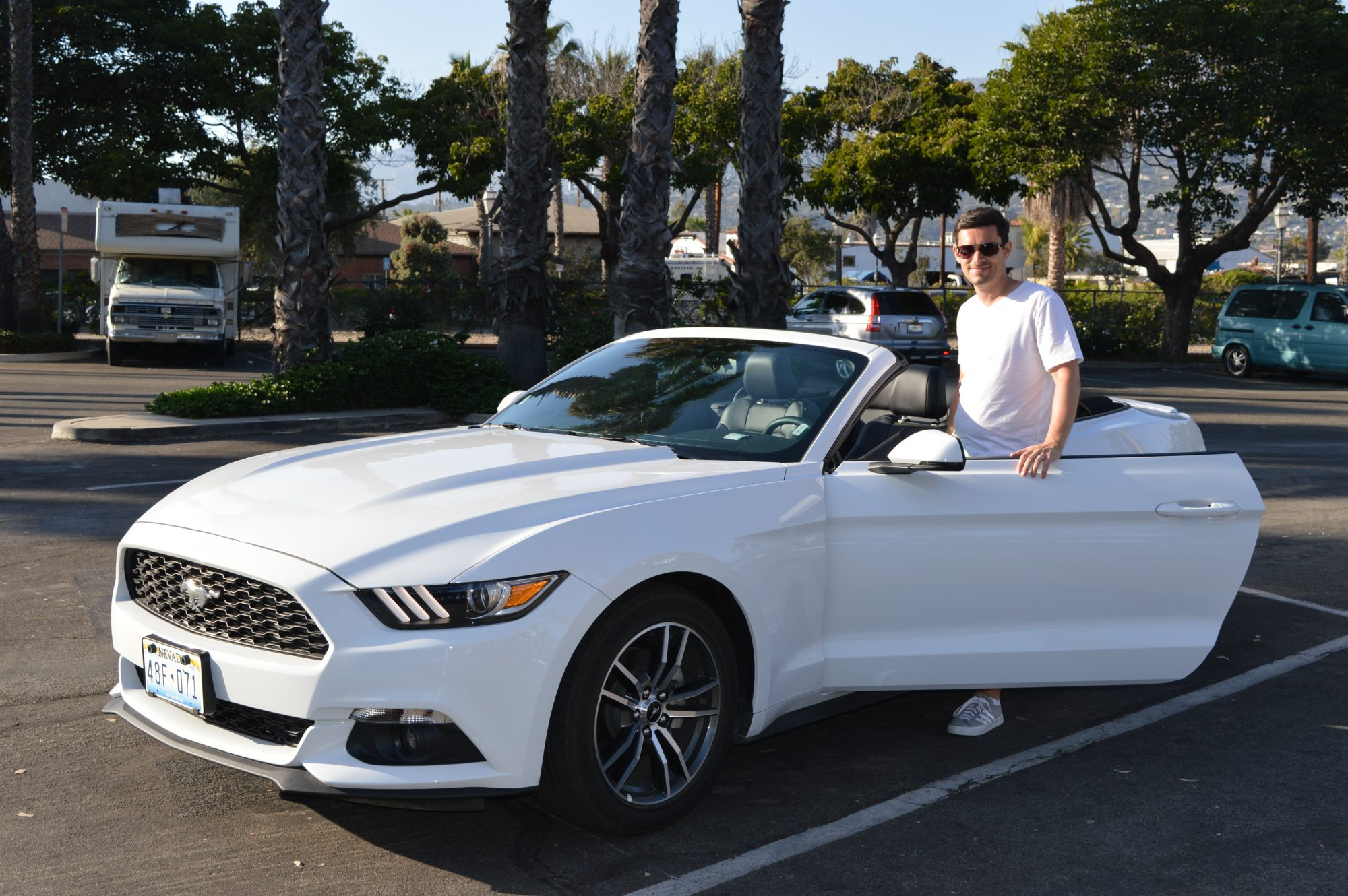 Pacific Coast Highway Ford Mustang