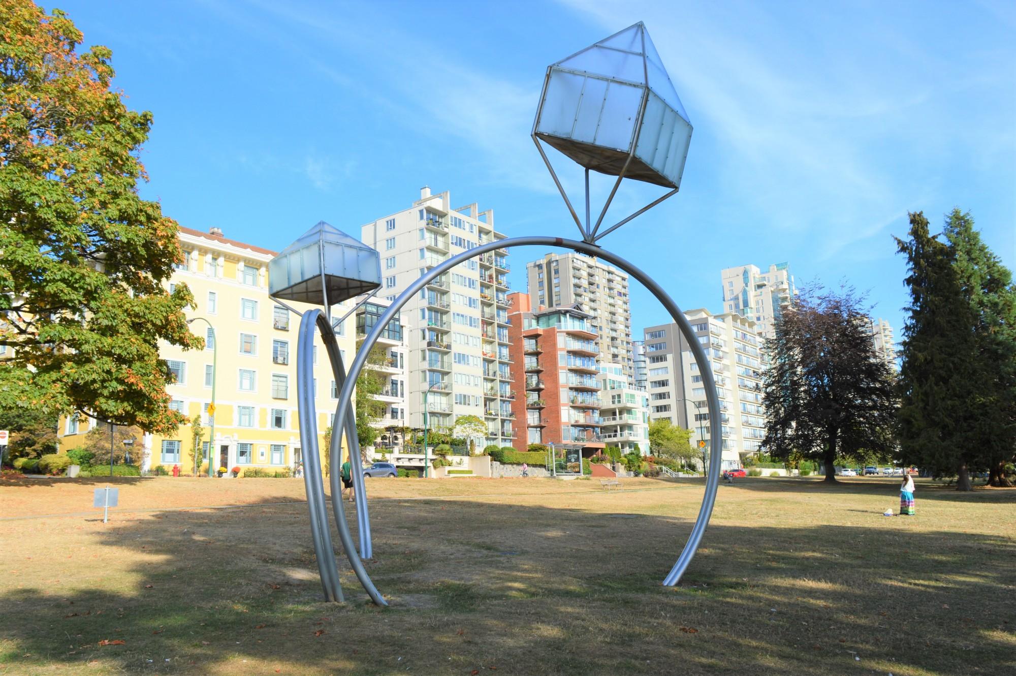 Diamond Rings Public art in Vancouver