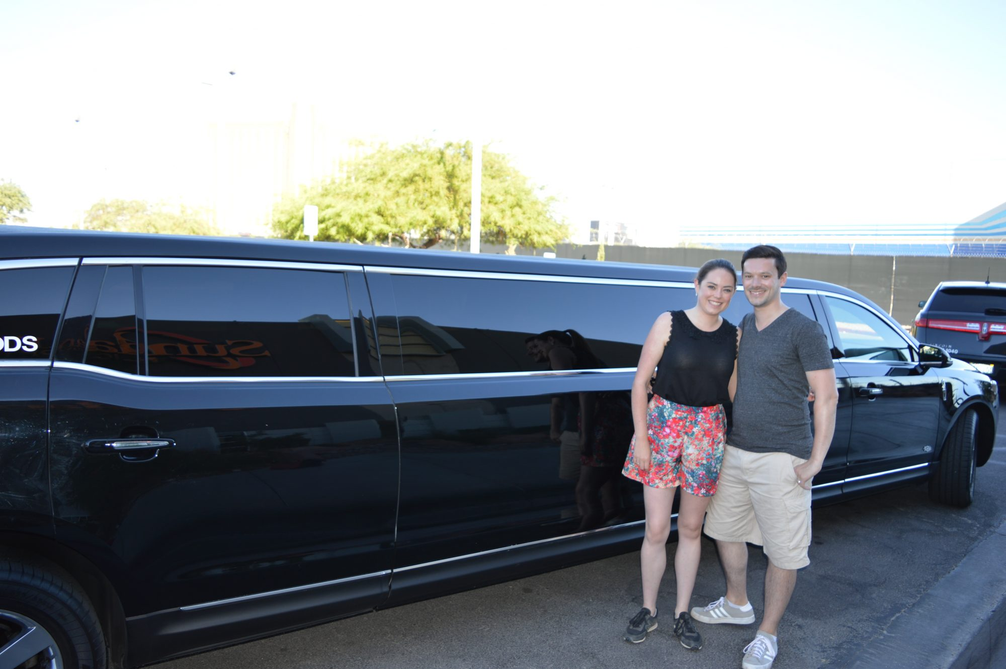Limousine pick up