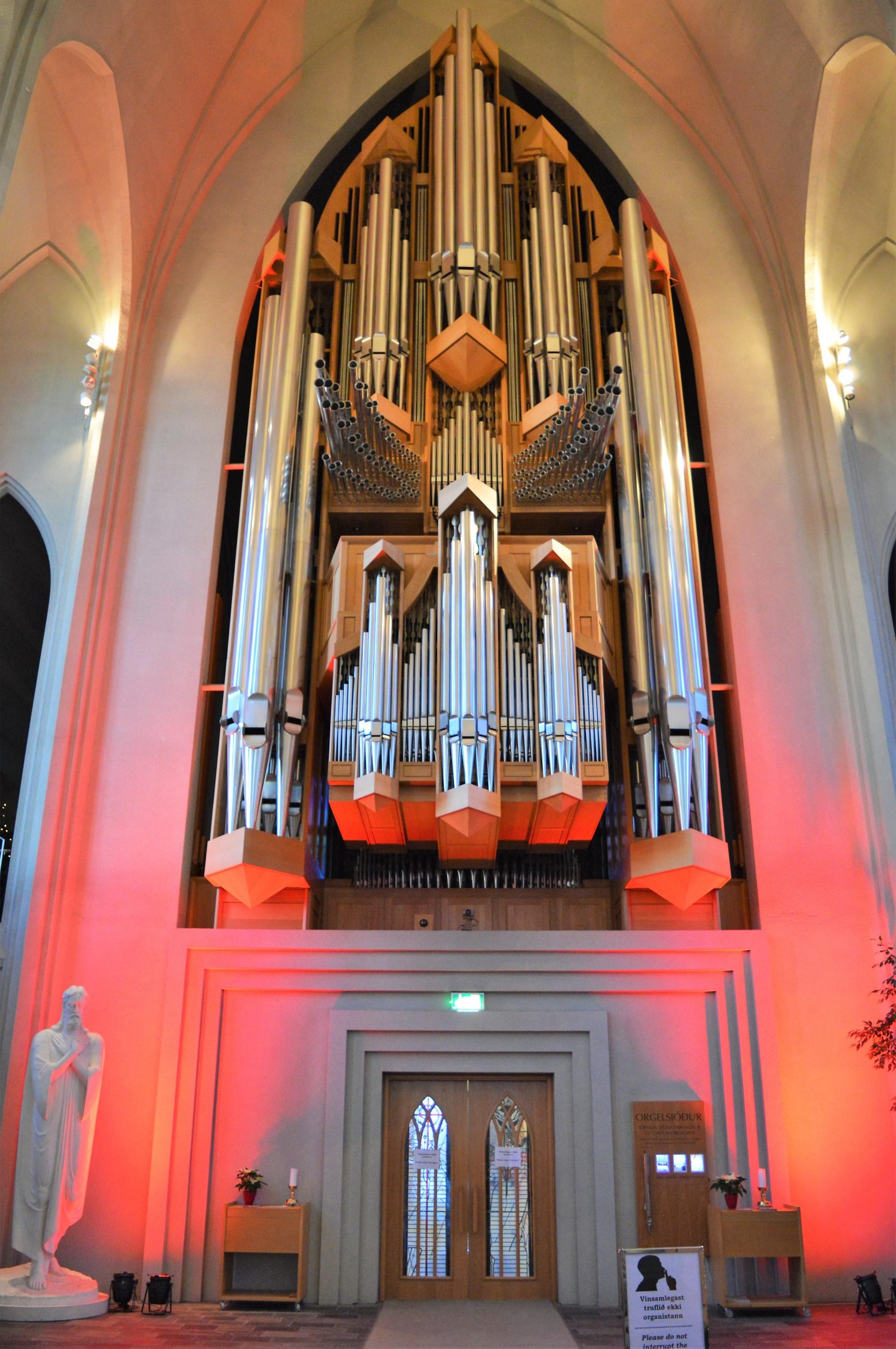 Hallgrímskirkja Church Pipe Organ