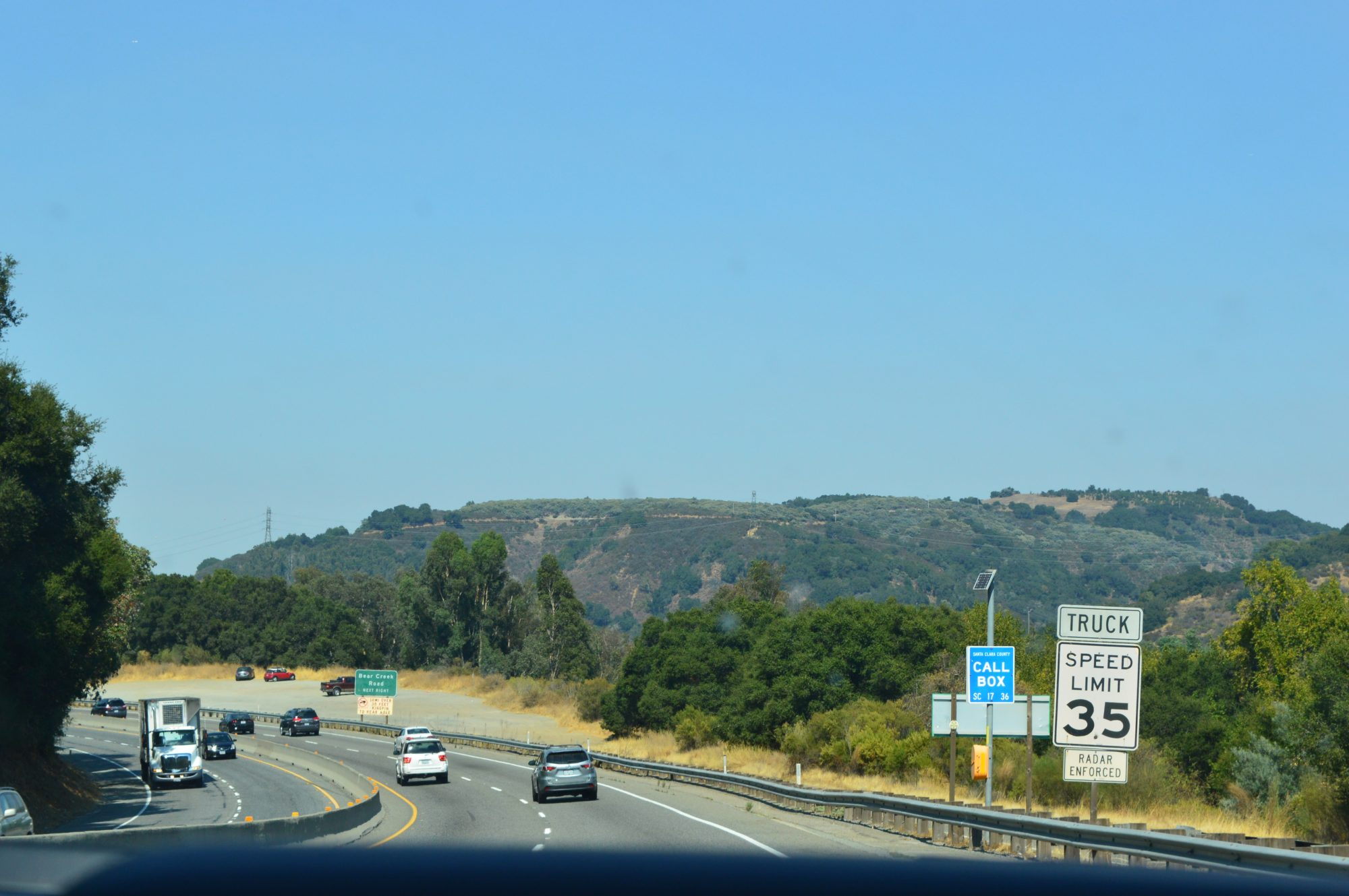 Final stretch to San Francisco