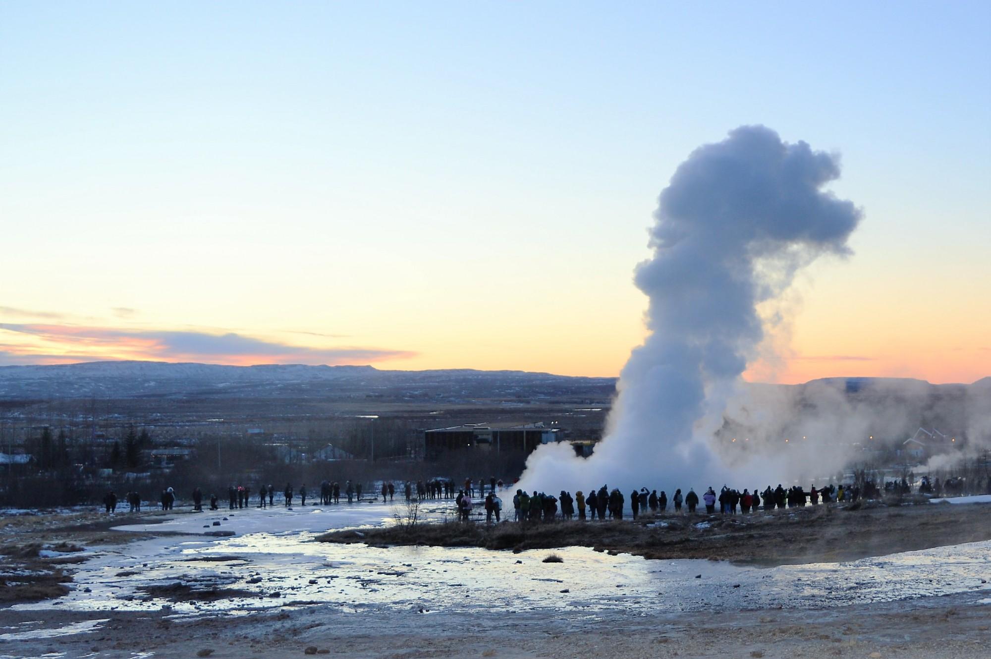 Strokkur Geyser, Haukadalur, Iceland