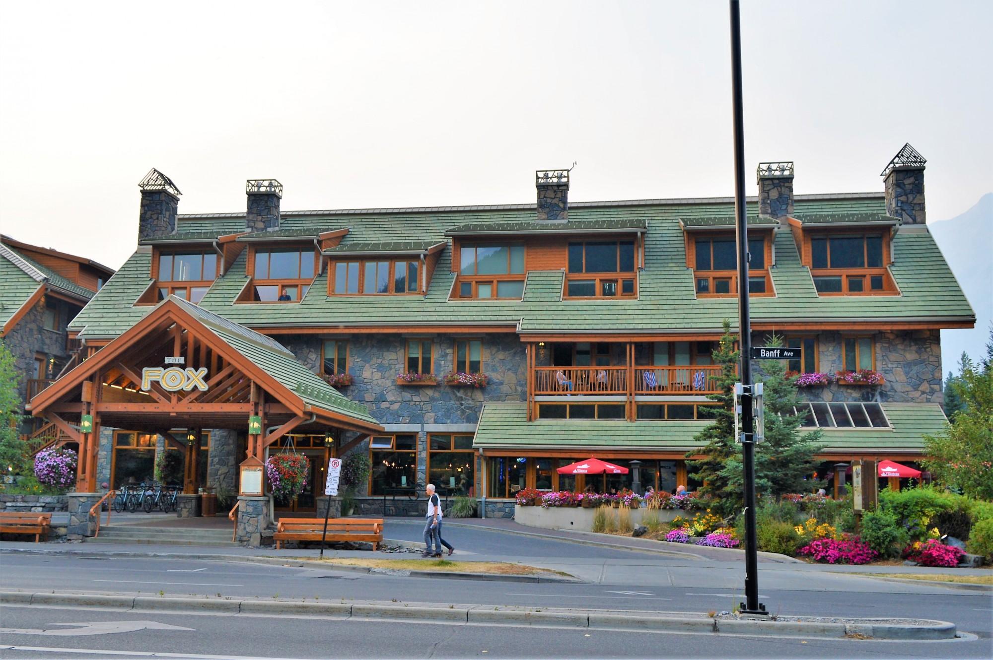 The Fox Hotel, Banff
