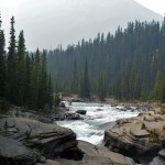 Hiking To The Mistaya Canyon In Banff National Park