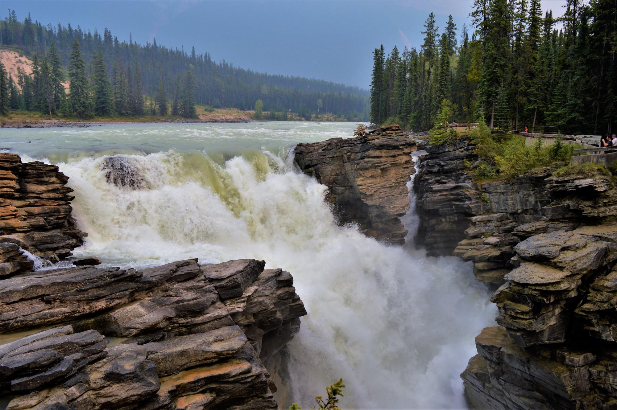 Athabasca Falls, Jasper National Park