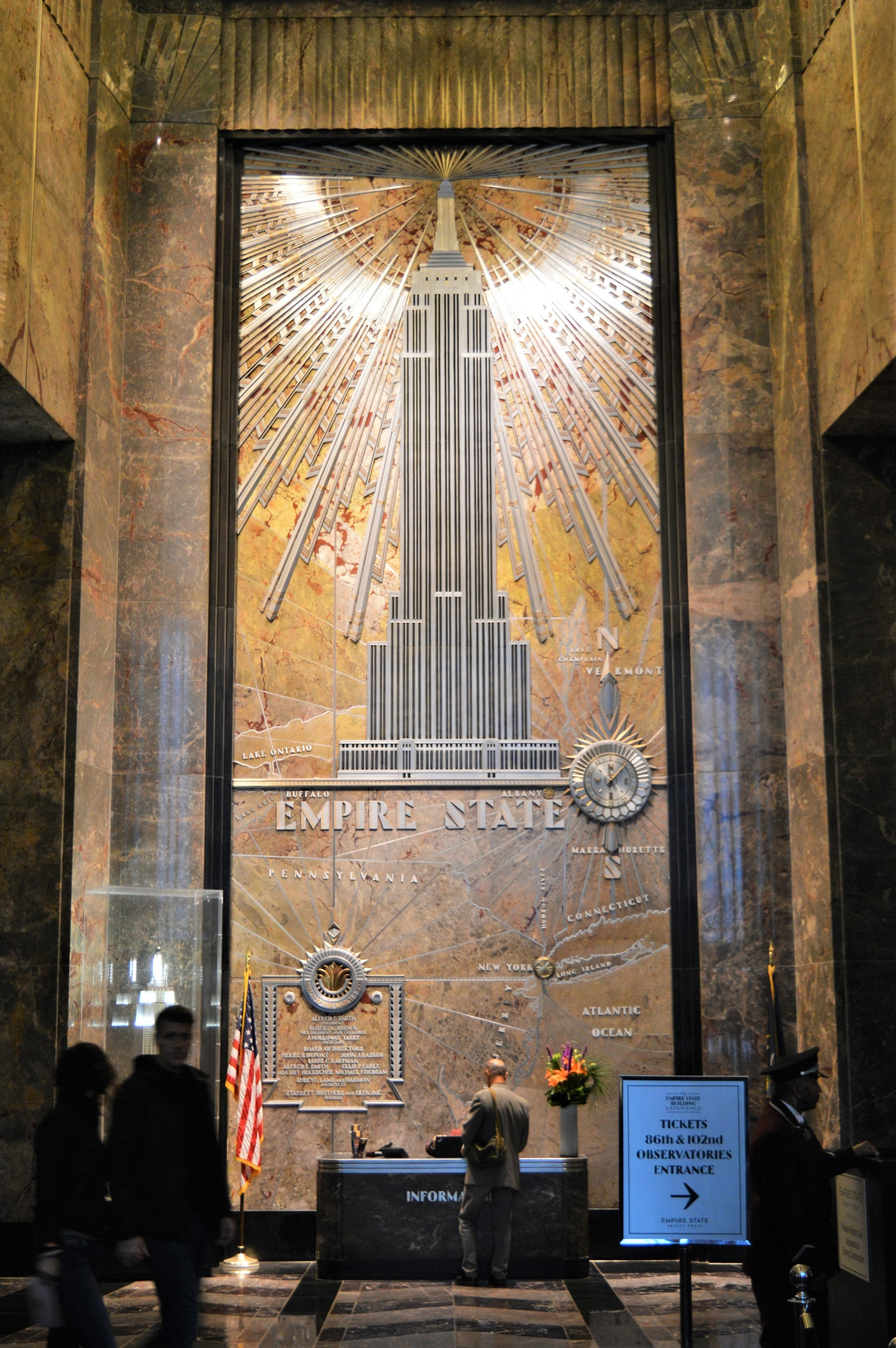 The Empire State Building Lobby