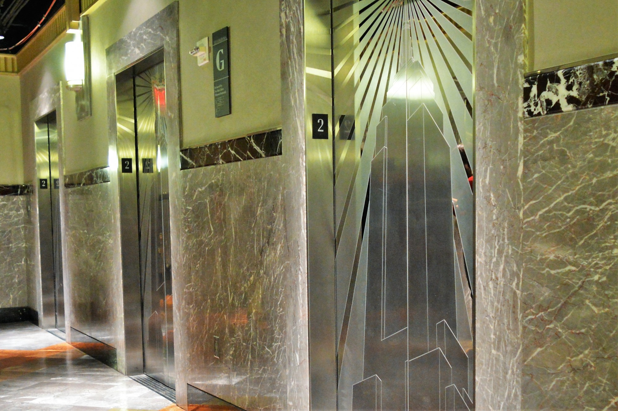 The Empire State Building Elevators