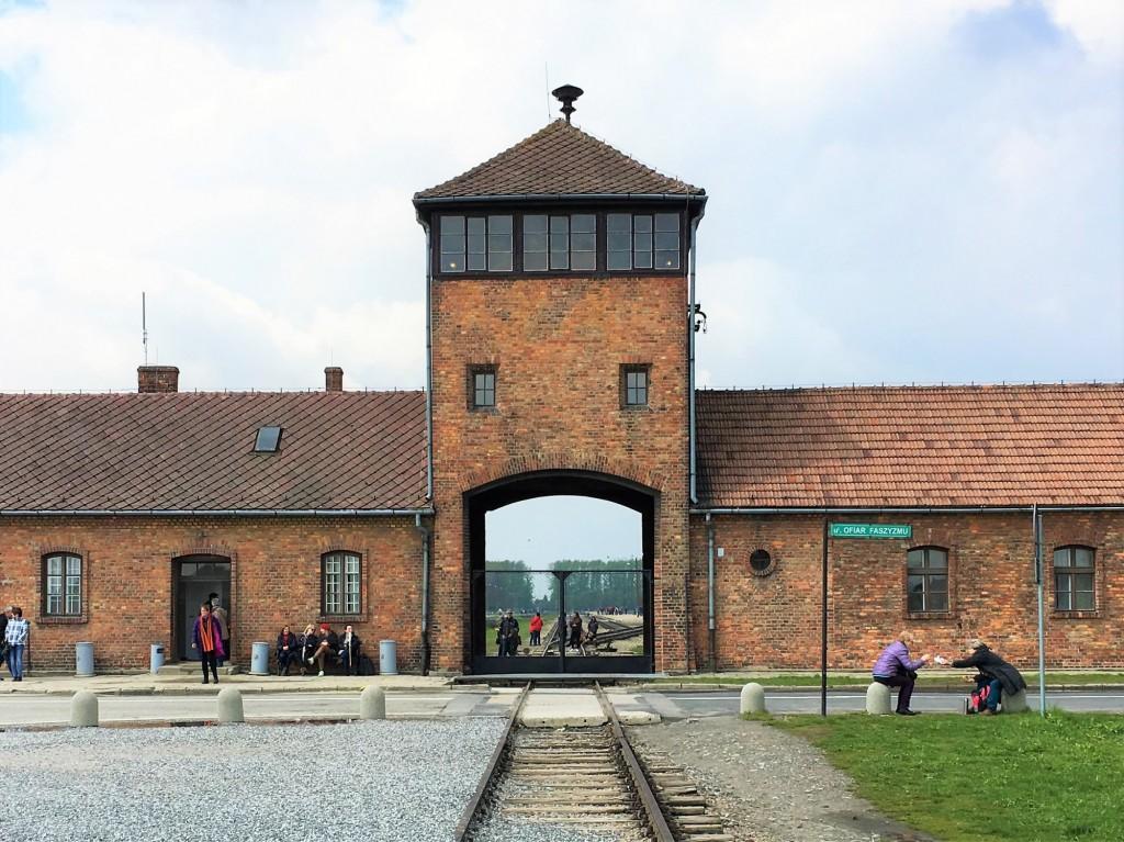 Auschwitz Birkenau main gate
