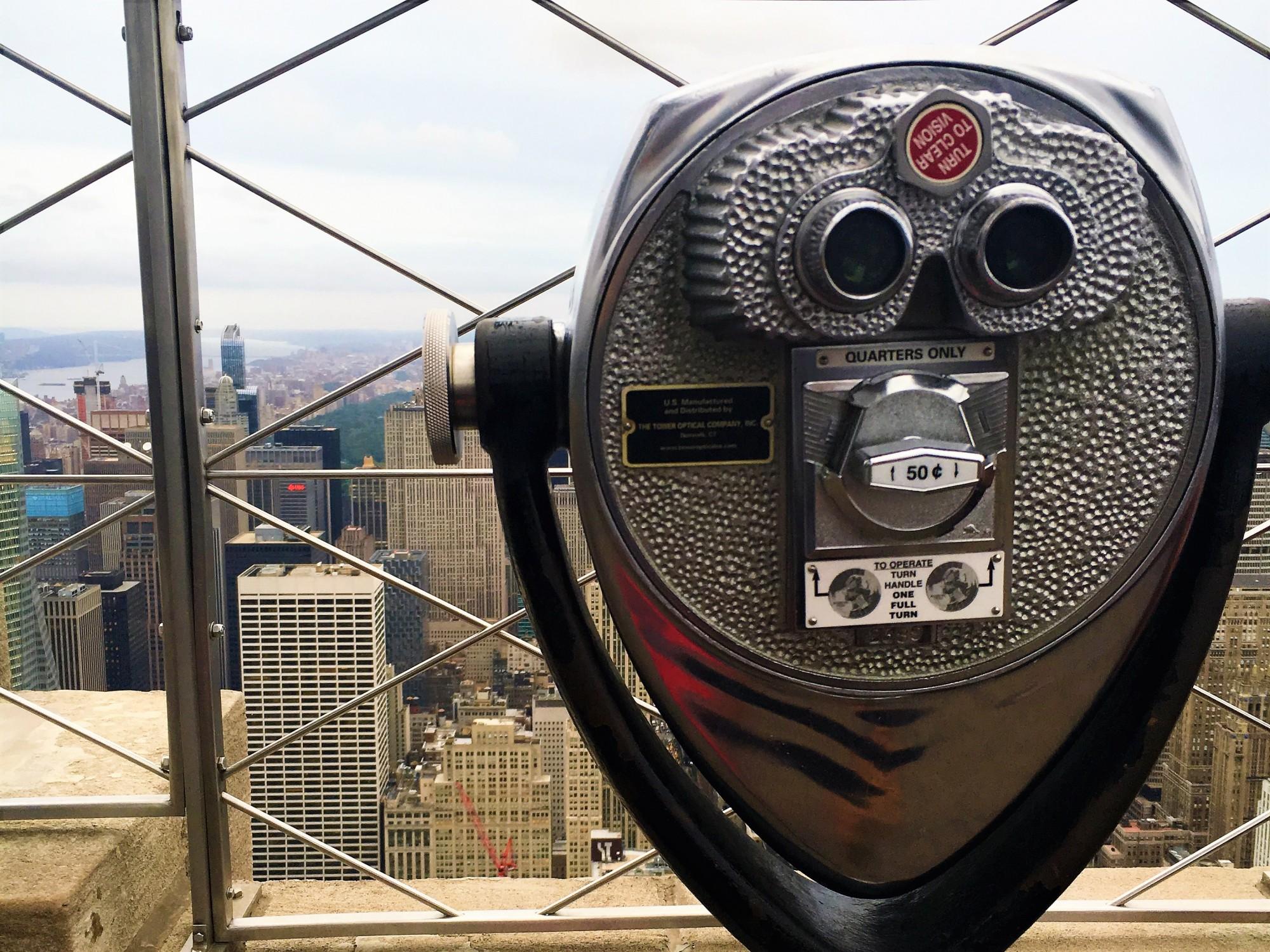 Empire State Building Telescope
