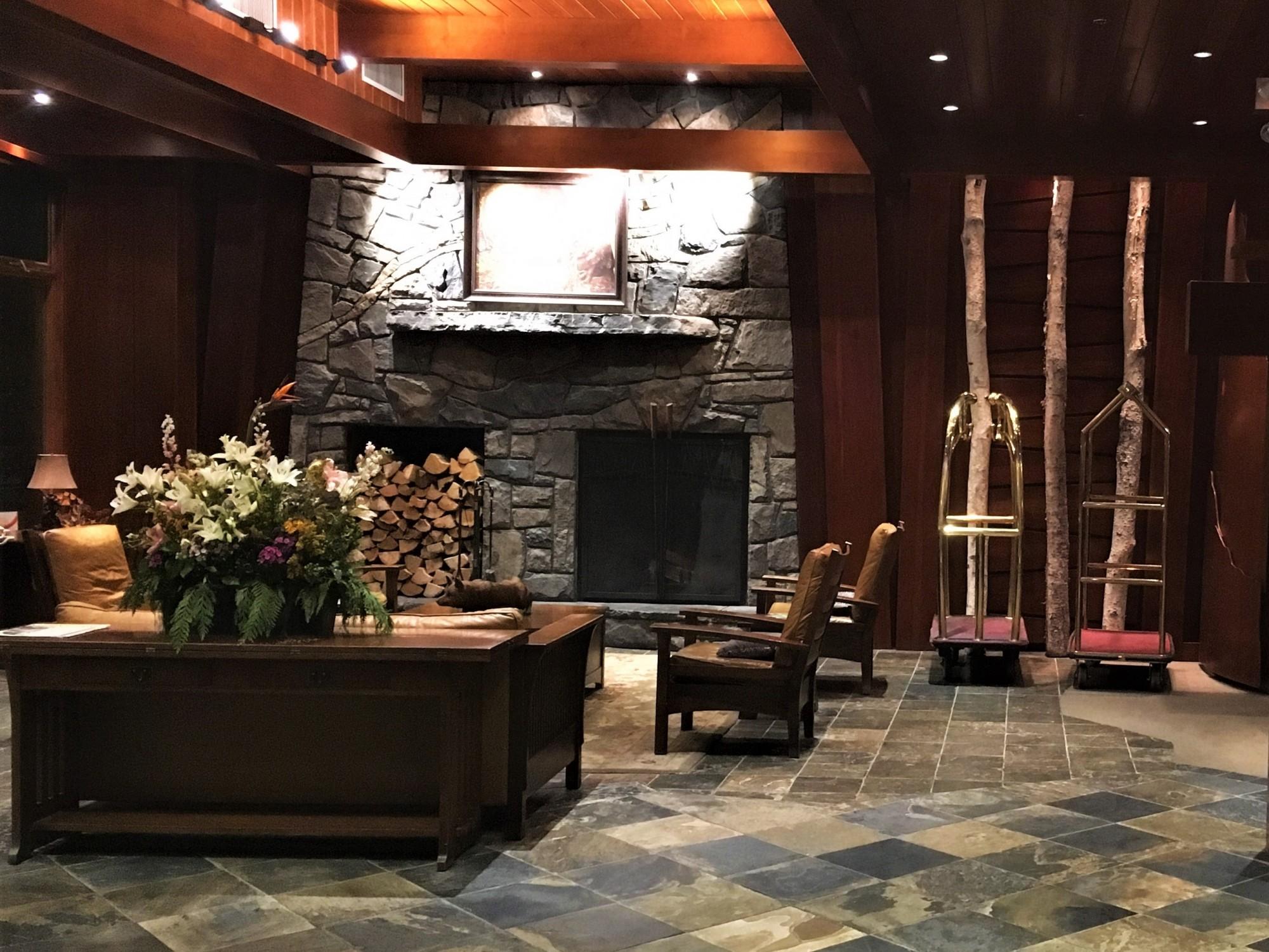 The Fox Hotel Reception Banff