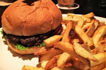 Buffalo Burger at Roxy Burger
