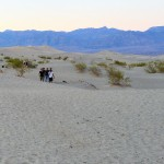 Exploring The Mesquite Flat Sand Dunes In Death Valley National Park