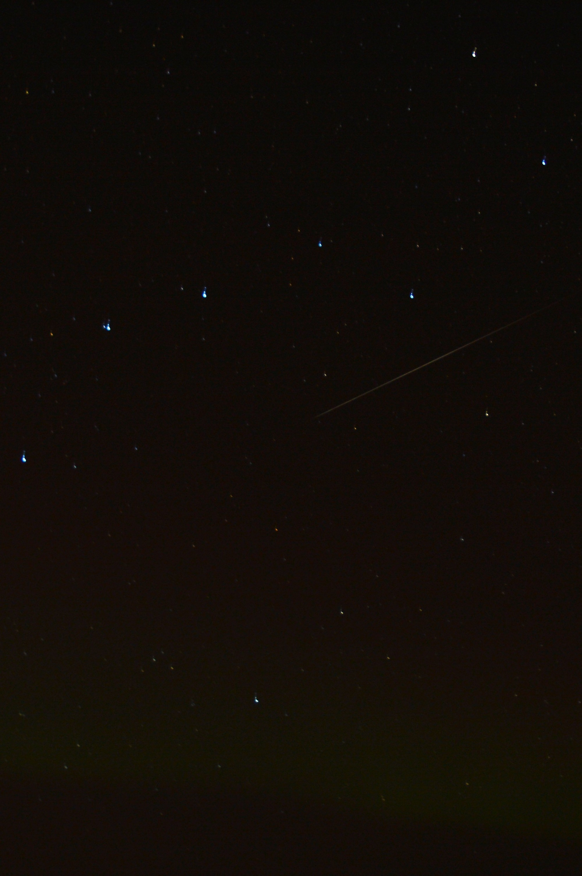 The Northern Lights & Geminid Meteor, Iceland