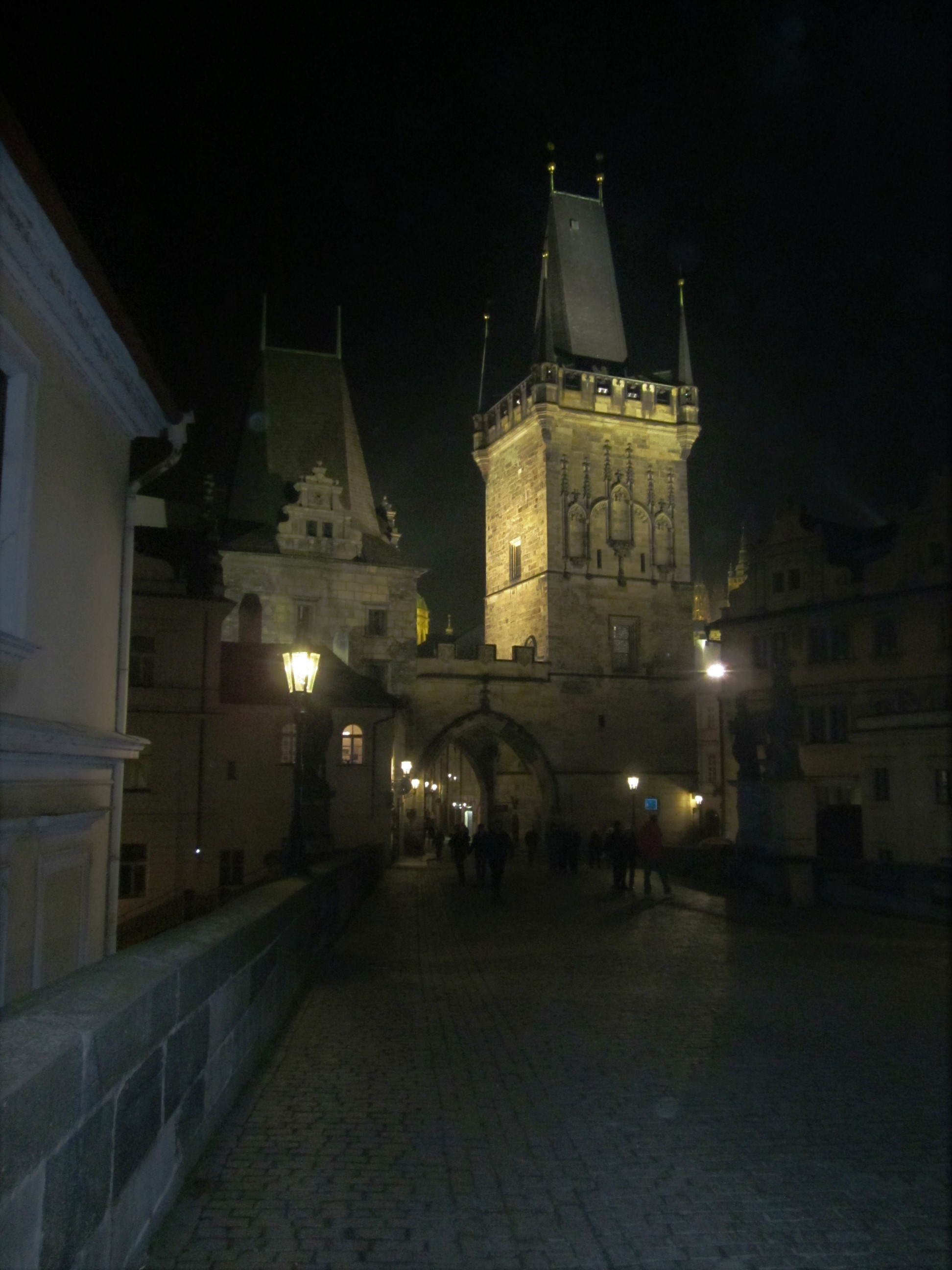 Charles Bridge Prague at Night