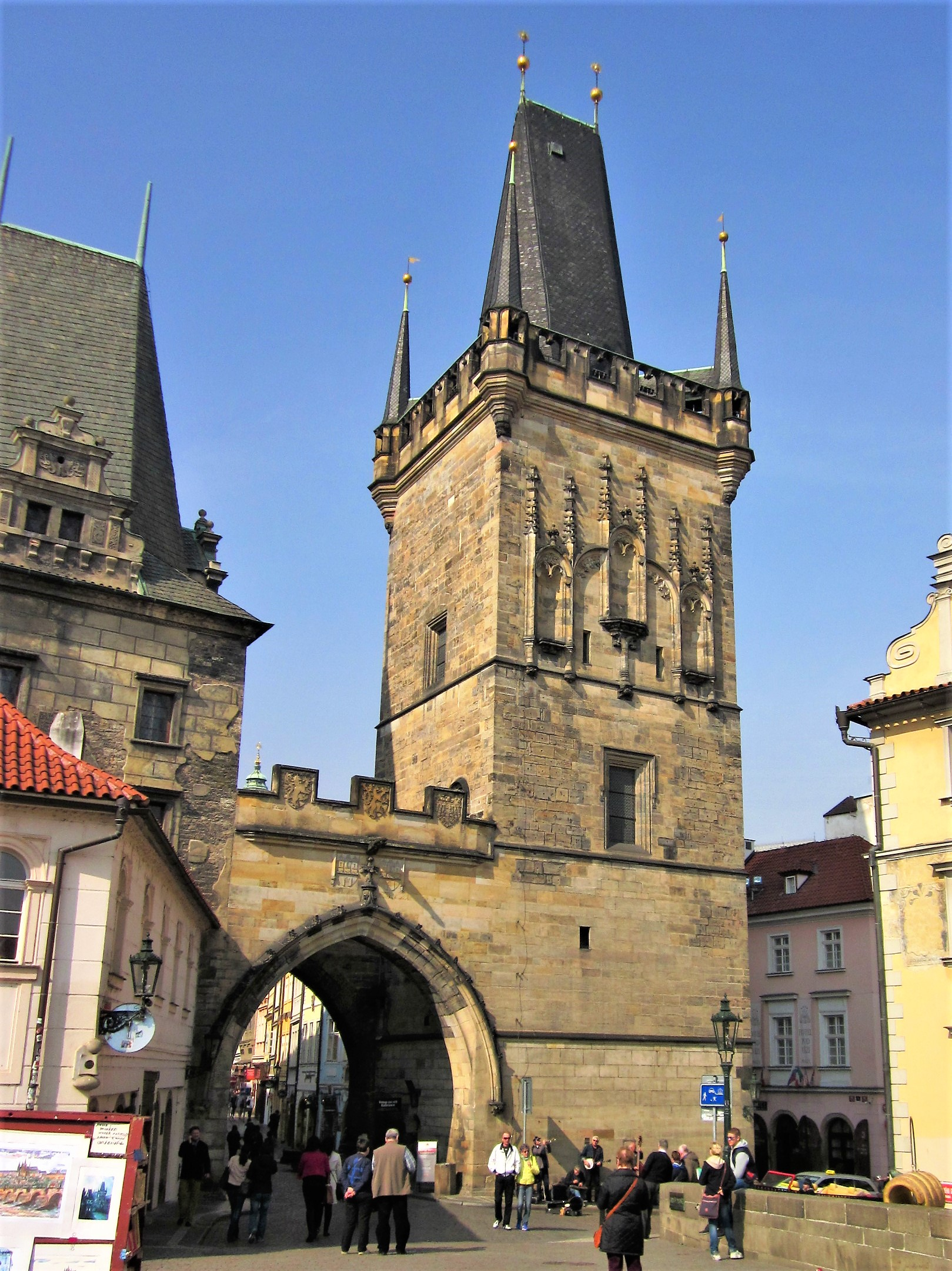 Lesser Town Bridge Tower, Prague
