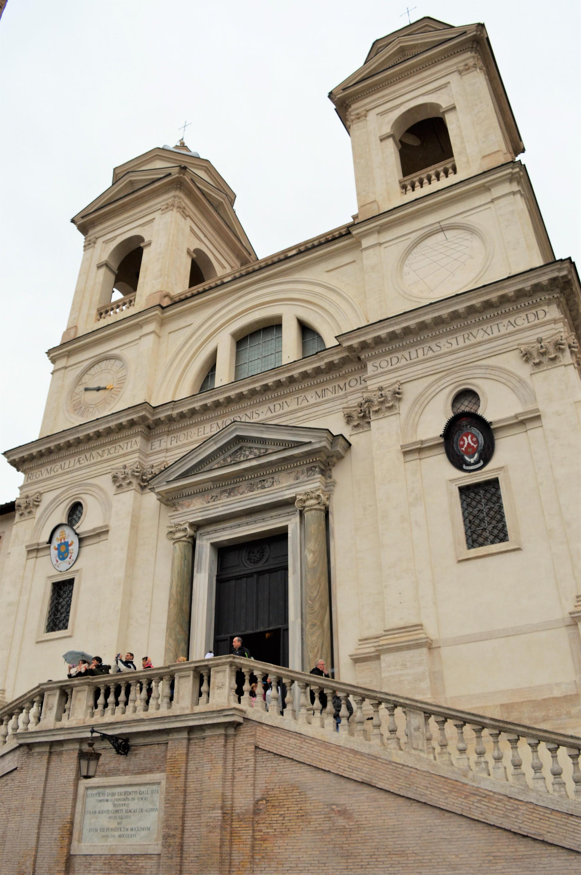 Trinità dei Monti, Rome