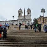 Climbing The Iconic Spanish Steps In Rome