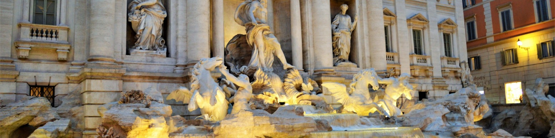 The Trevi Fountain, Rome